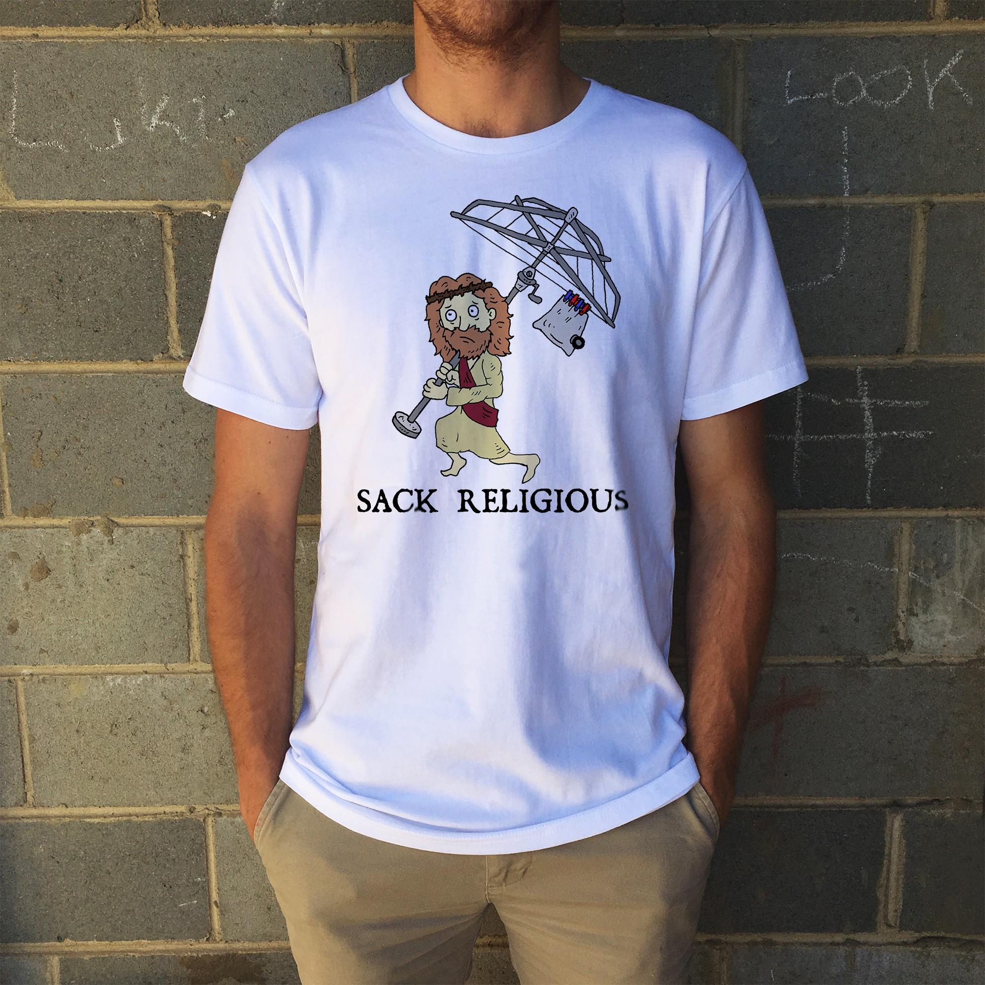 SACK RELIGIOUS WHITE TEE