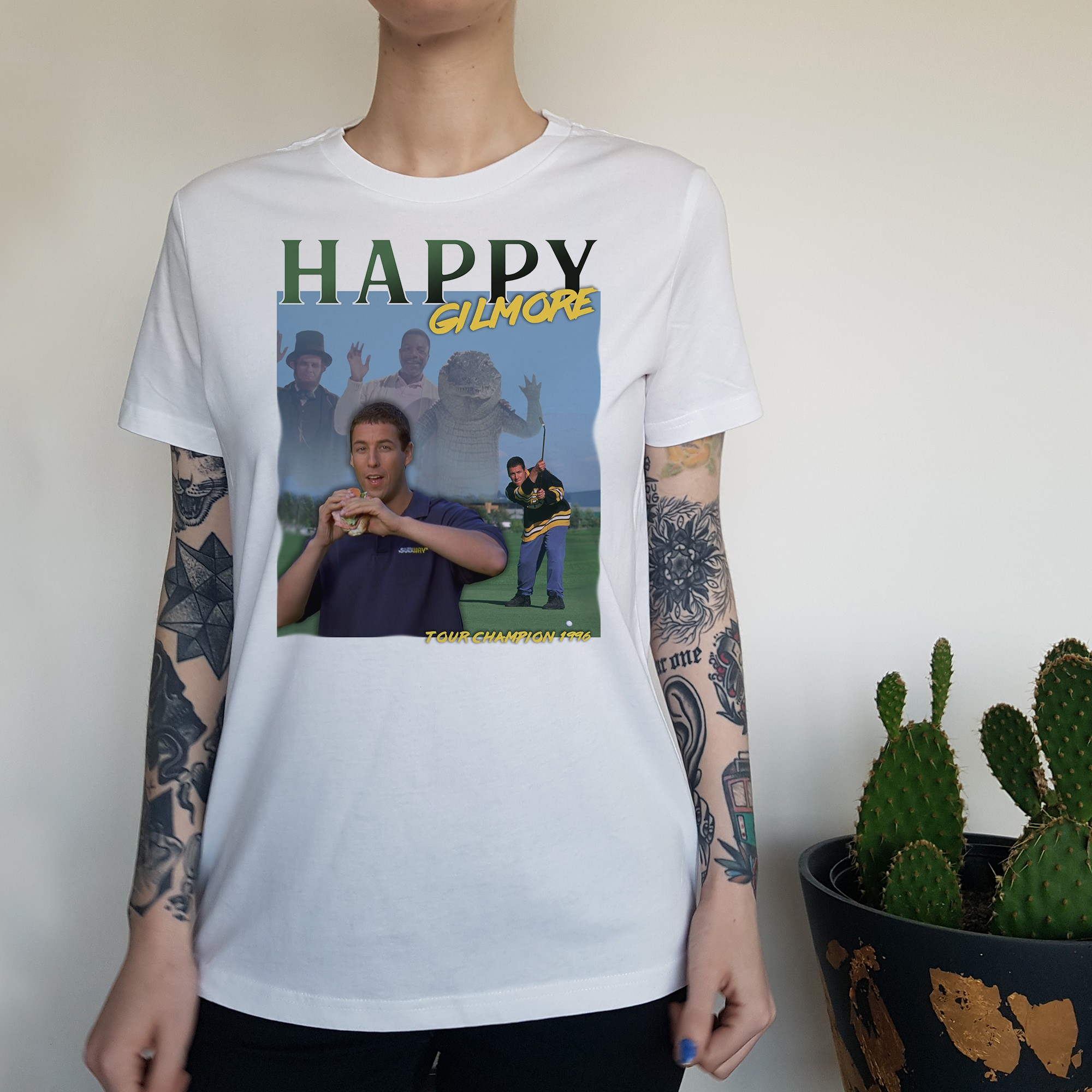 WOMENS VINTAGE HAPPY TEE