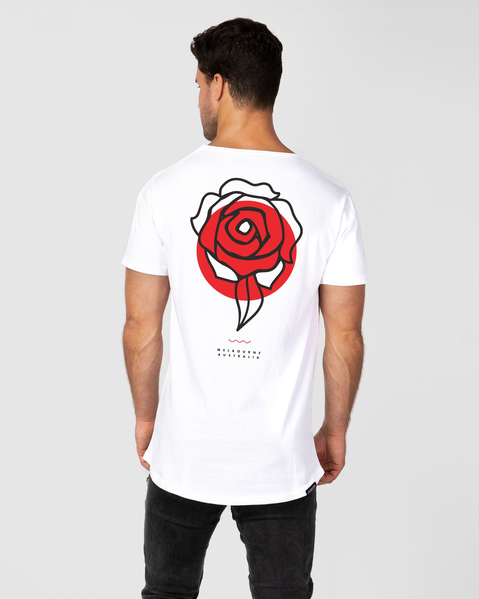 ROSE WHITE TEE