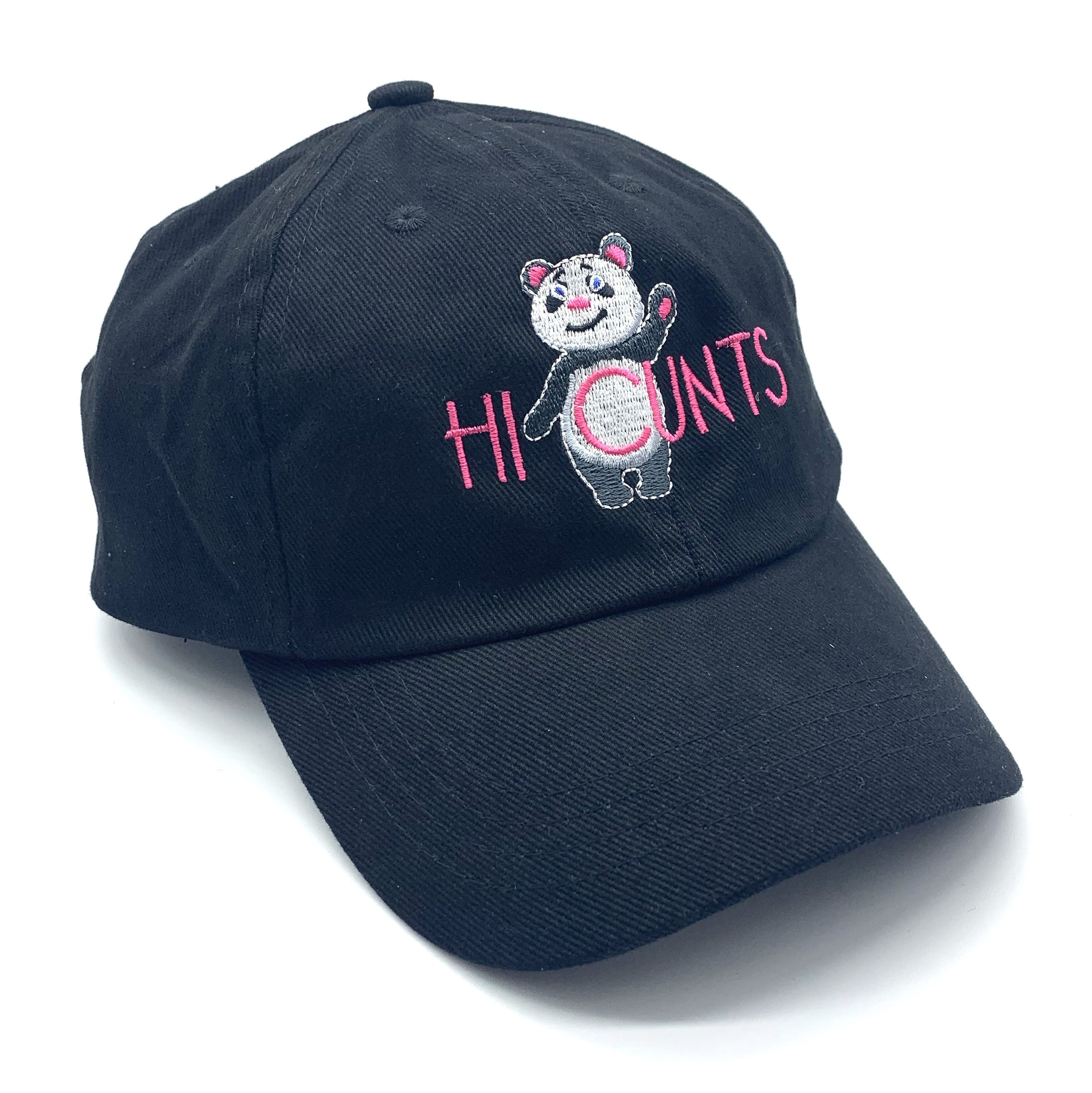 PANDA BLACK DAD HAT