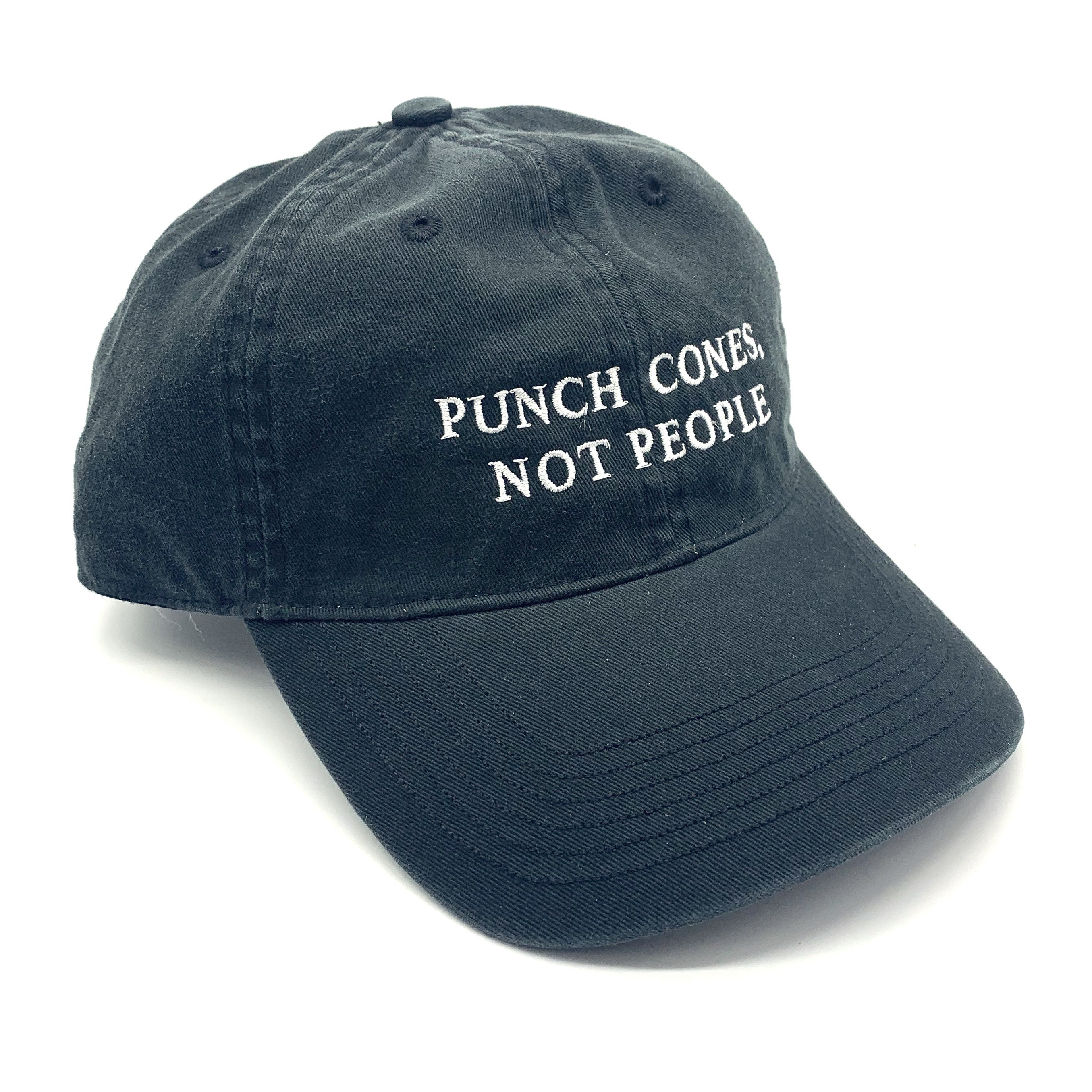 PUNCH CONES BLACK DAD HAT