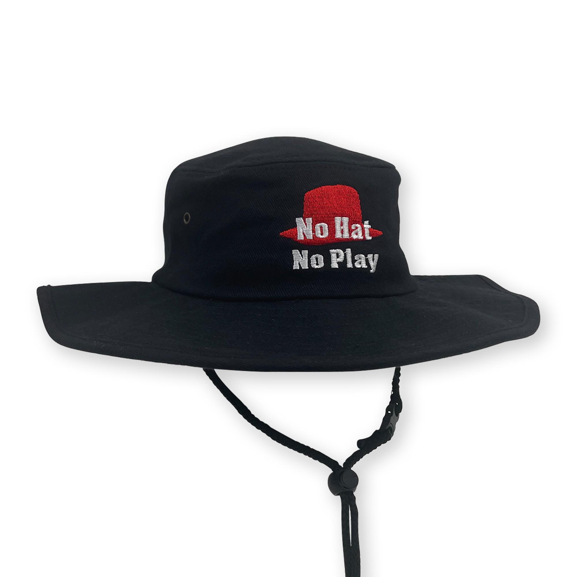 NO HAT NO PLAY WIDE BRIM HAT