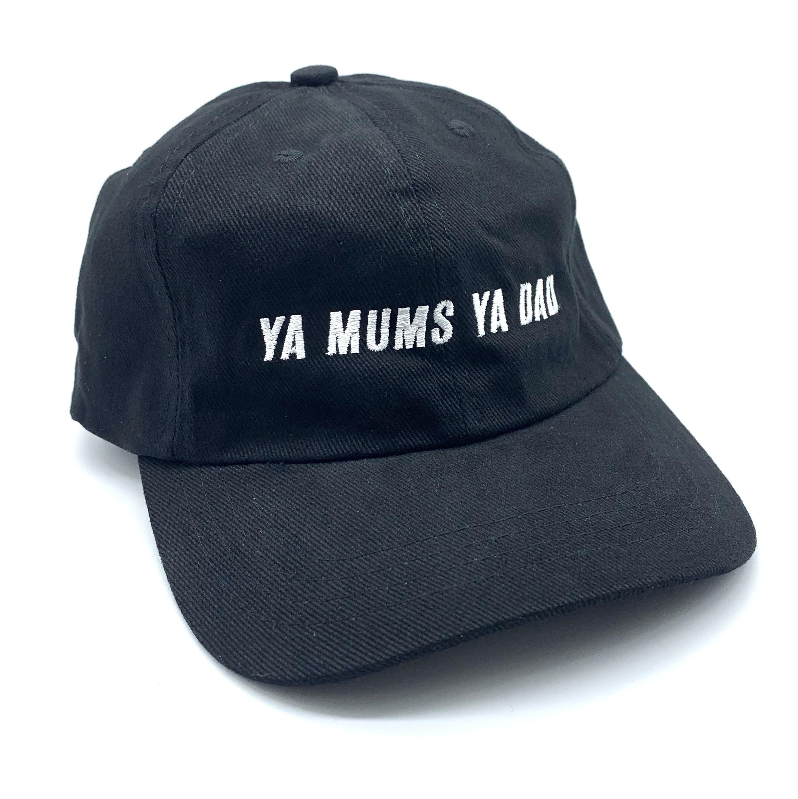 YA MUMS YA DAD BLACK DAD HAT