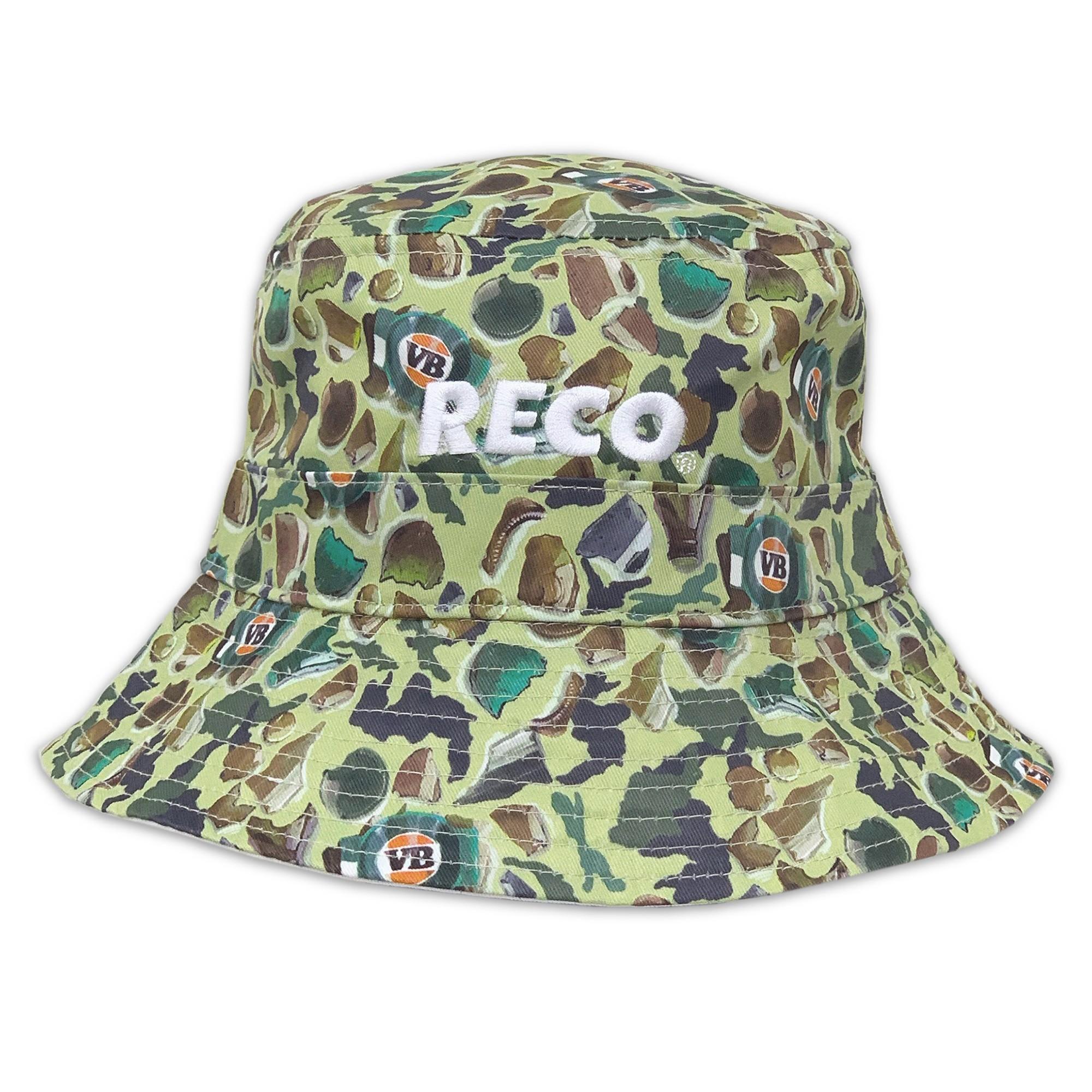 SMASHED CAMO BUCKET HAT