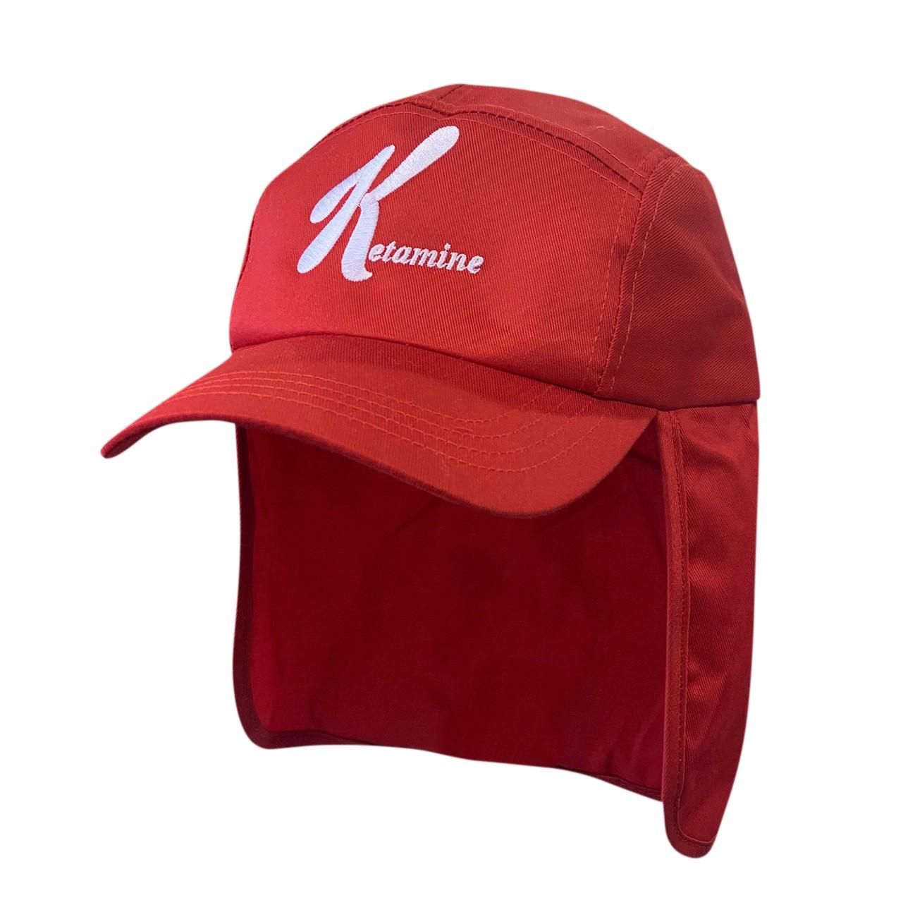 KETAMINE RED LEGIONNAIRES HAT