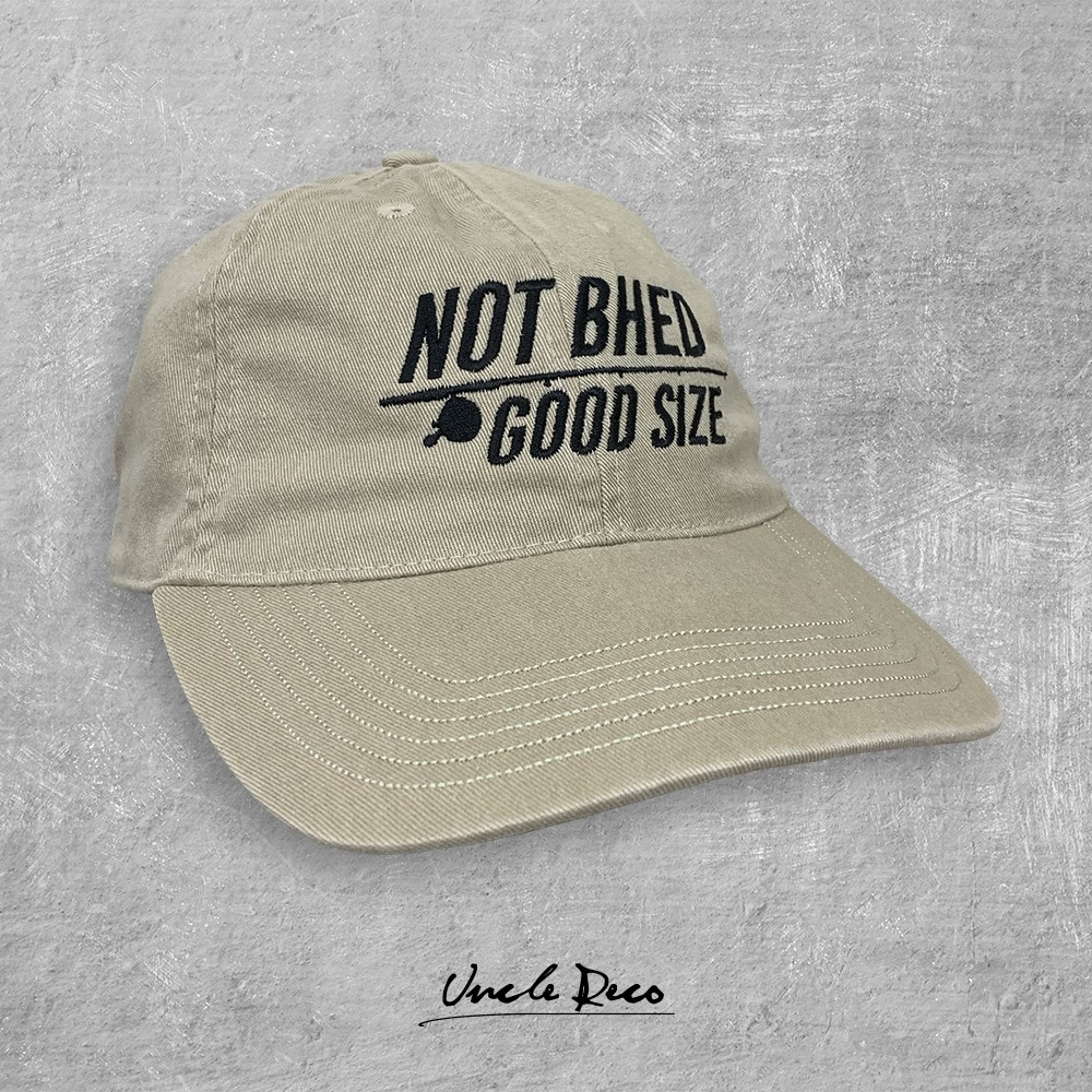 NOT BHED KHAKI DAD HAT