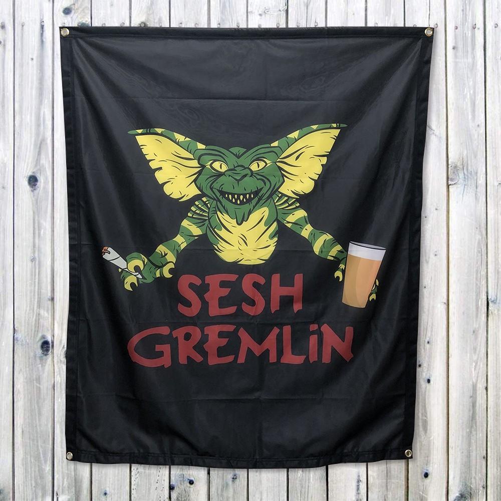 SESH GREMLIN WALL HANGING 1000 X 1200MM