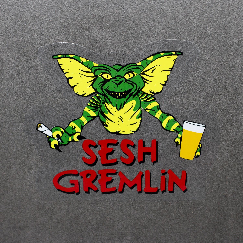 SESH GREMLIN DIE CUT STICKER
