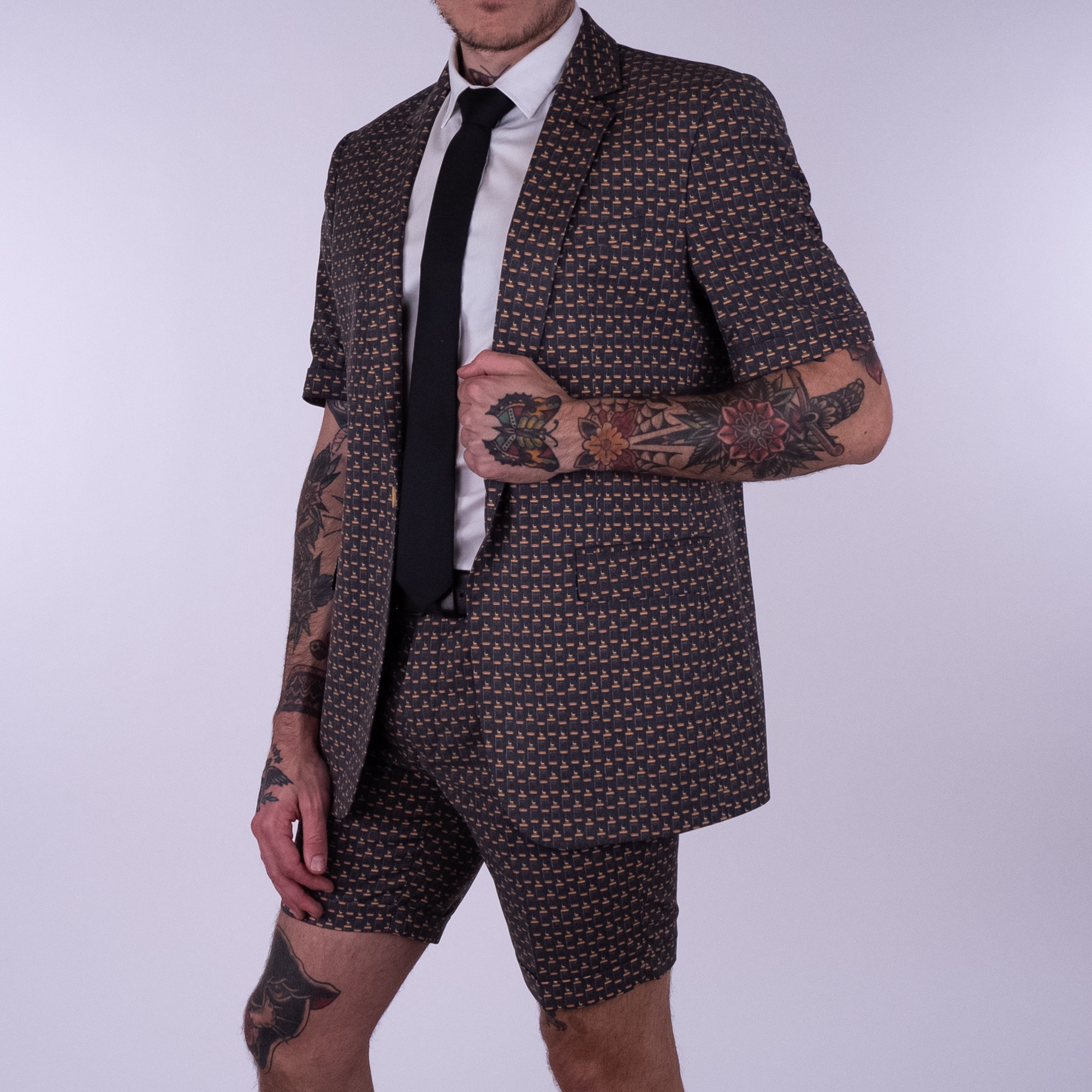 REPEATED JD MENS PARTY SUIT
