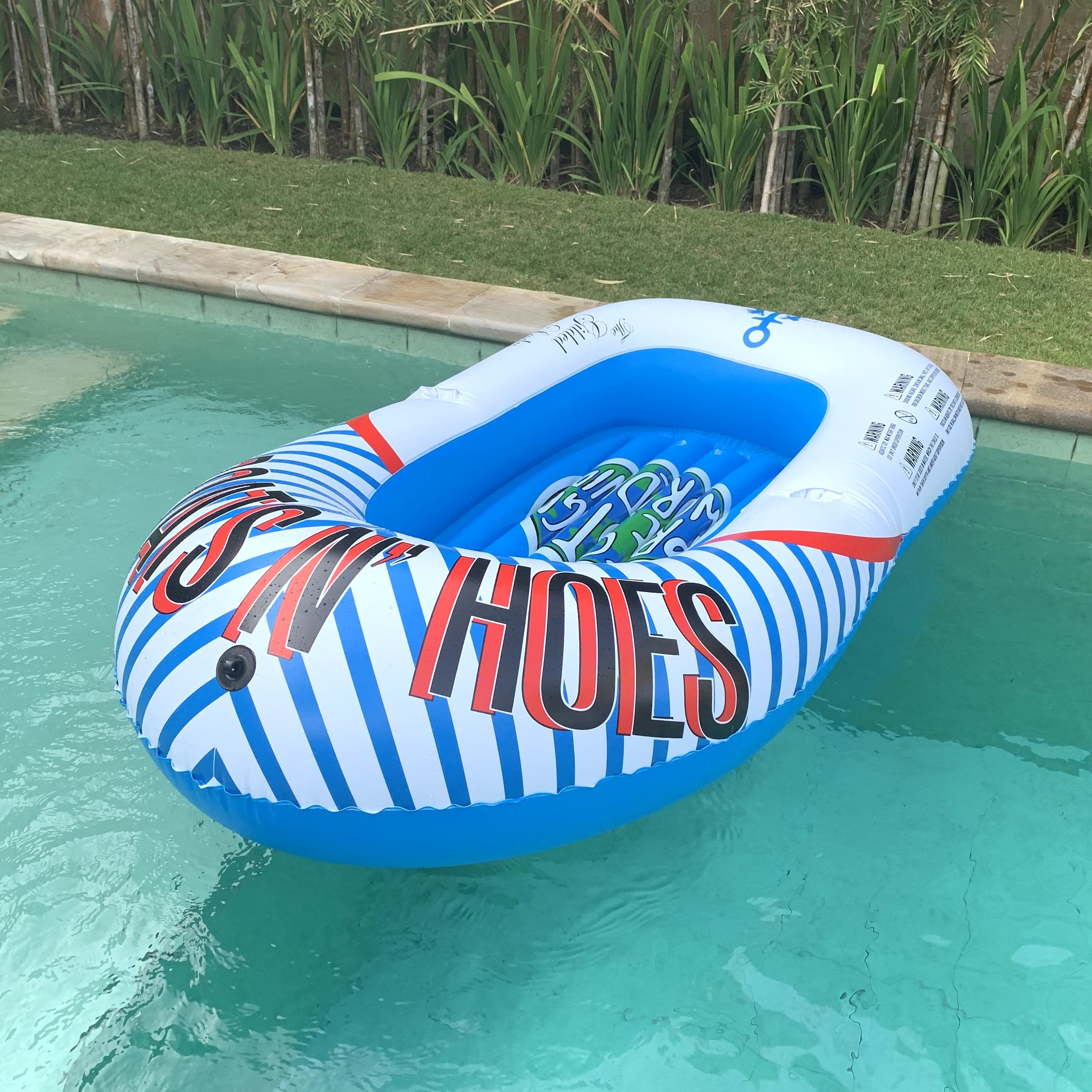 THE GILDED LADY BOATS N HOES INFLATABLE BOAT