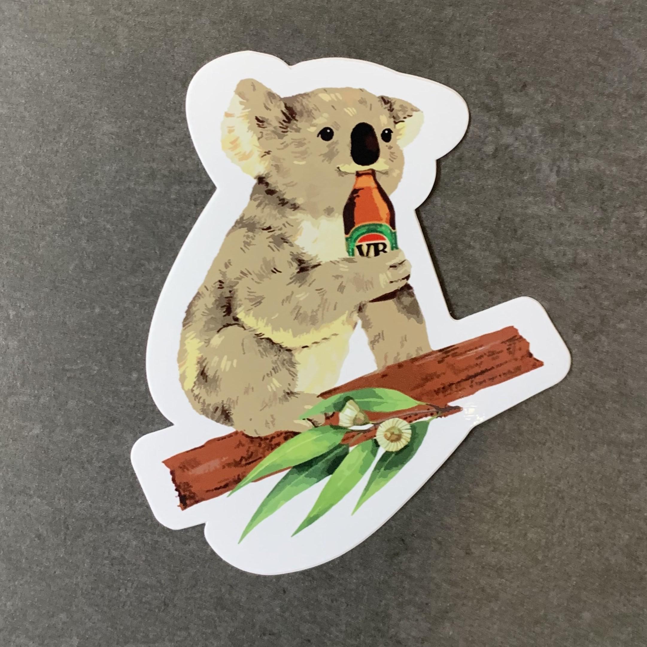 KOALA BEERS DIE CUT STICKER