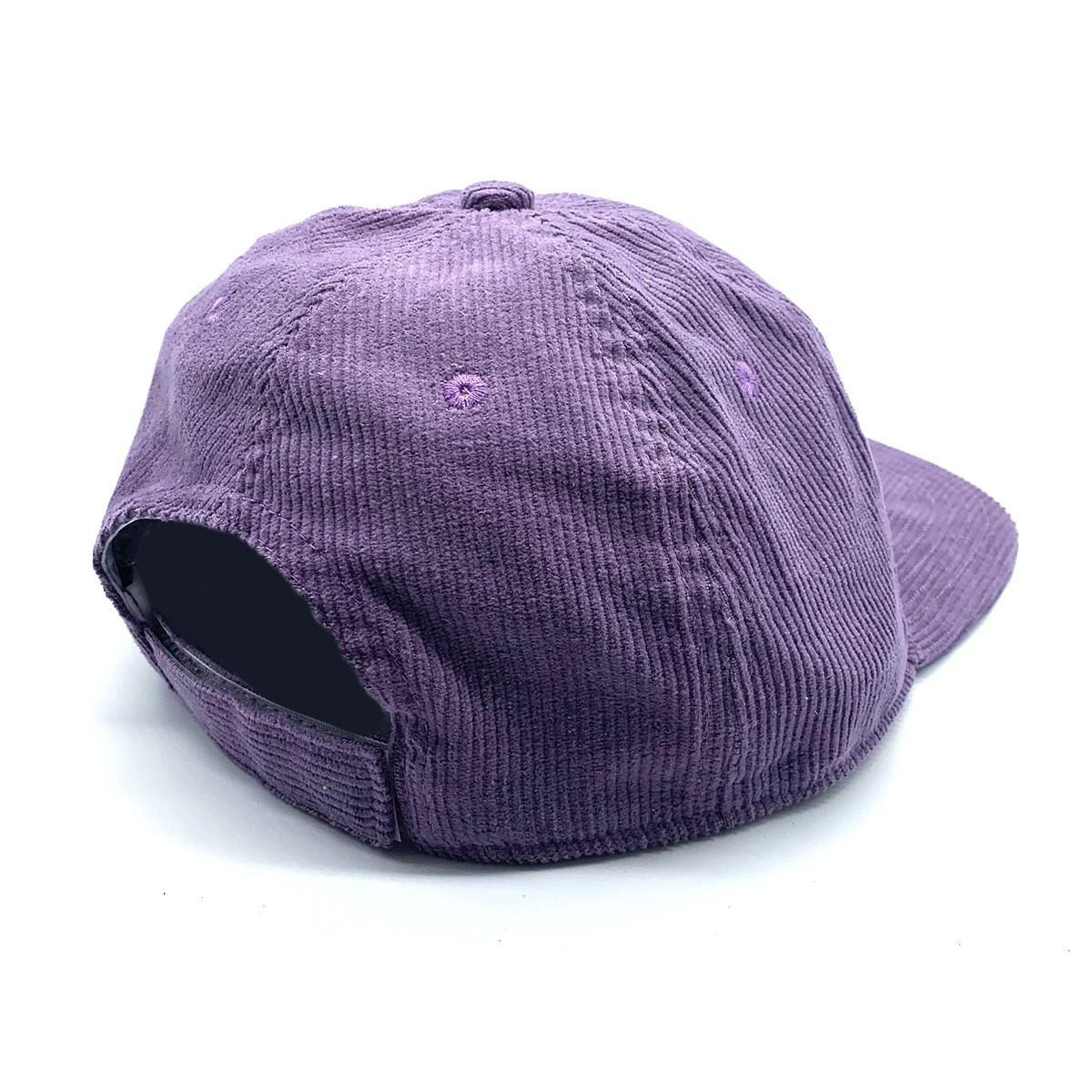PURPLE VINTAGE CORD HAT