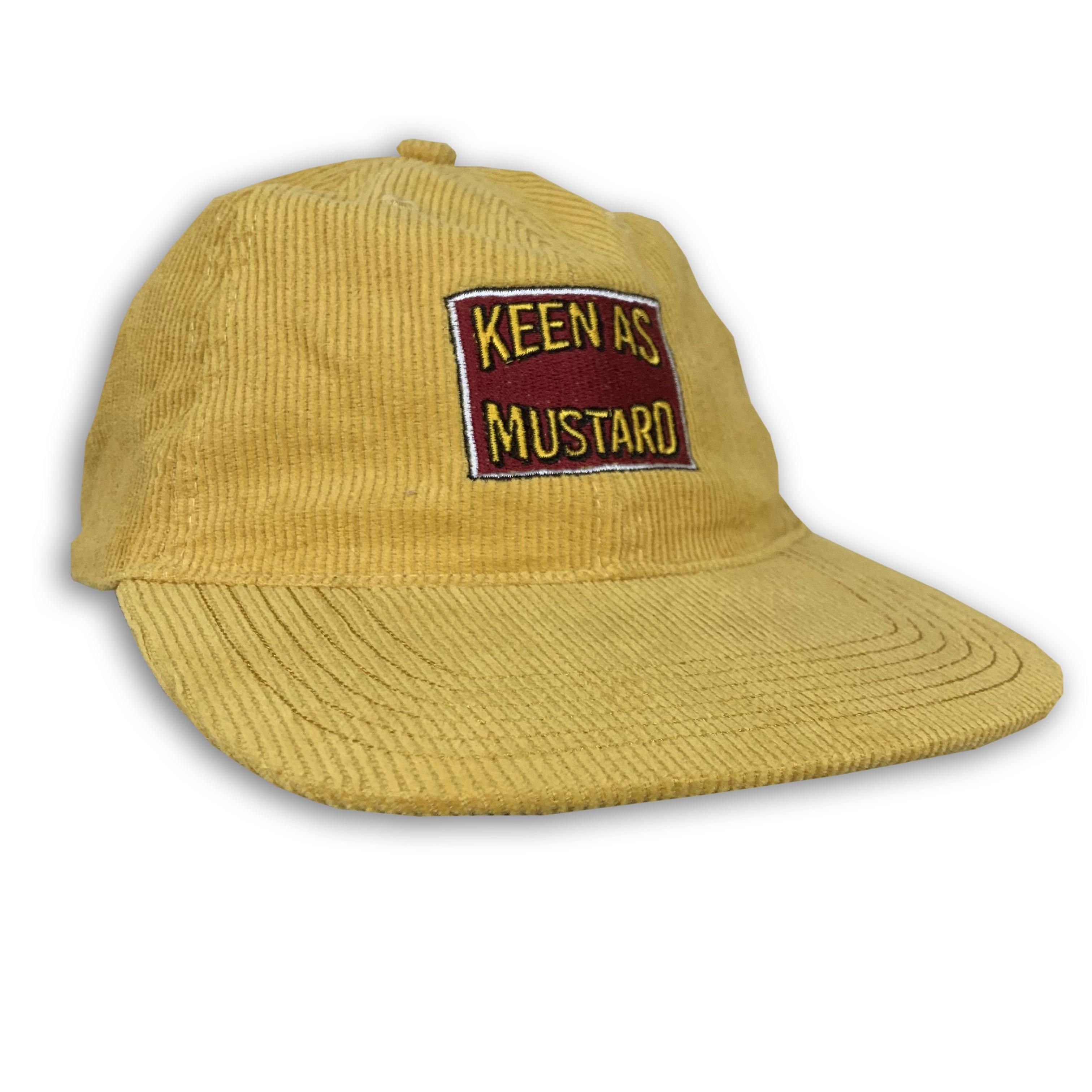 KEEN AS MUSTARD CORD HAT