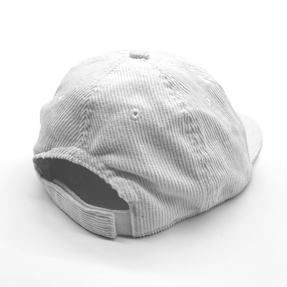 MINT CORD HAT IN WHITE