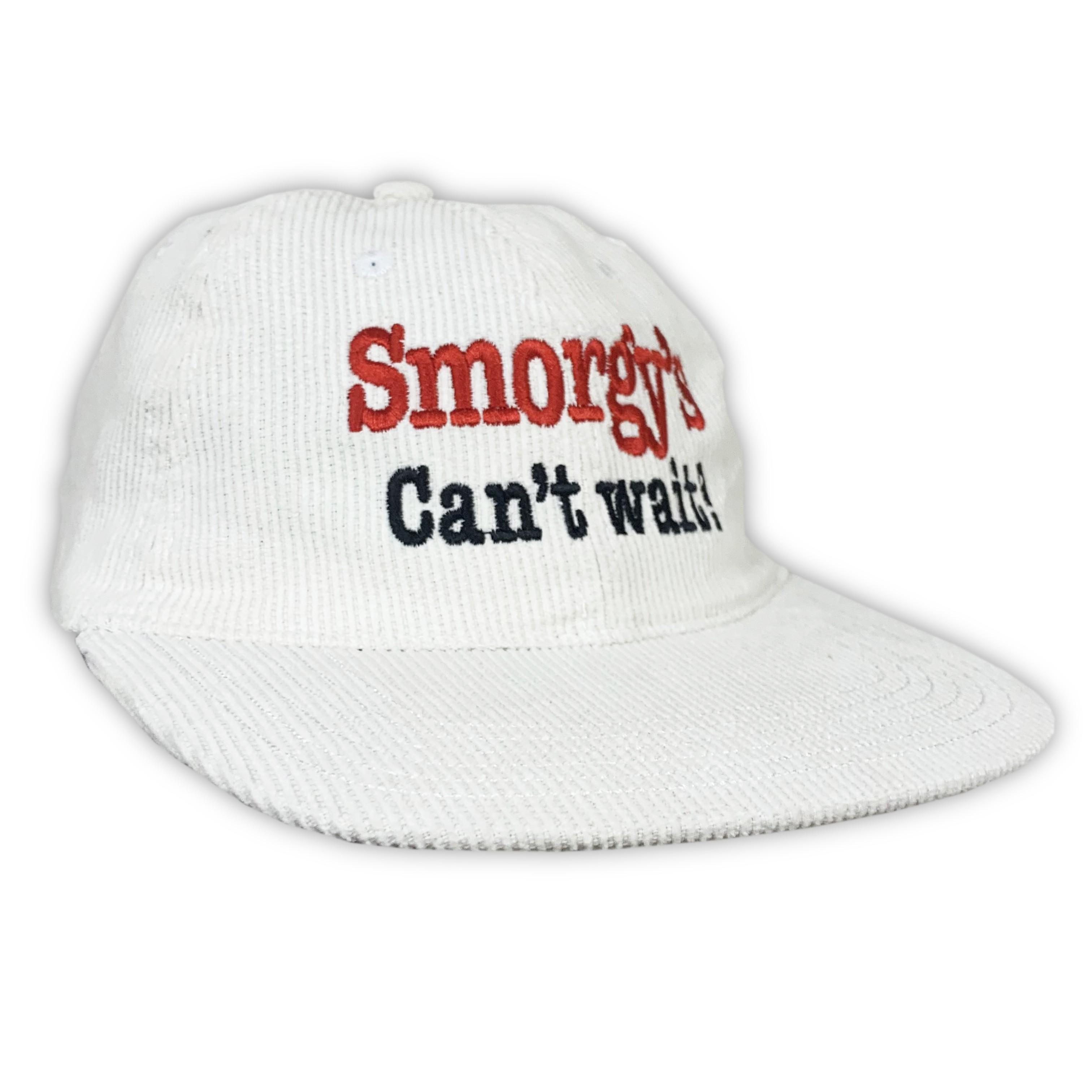 SMORGYS VINTAGE WHITE CORD HAT