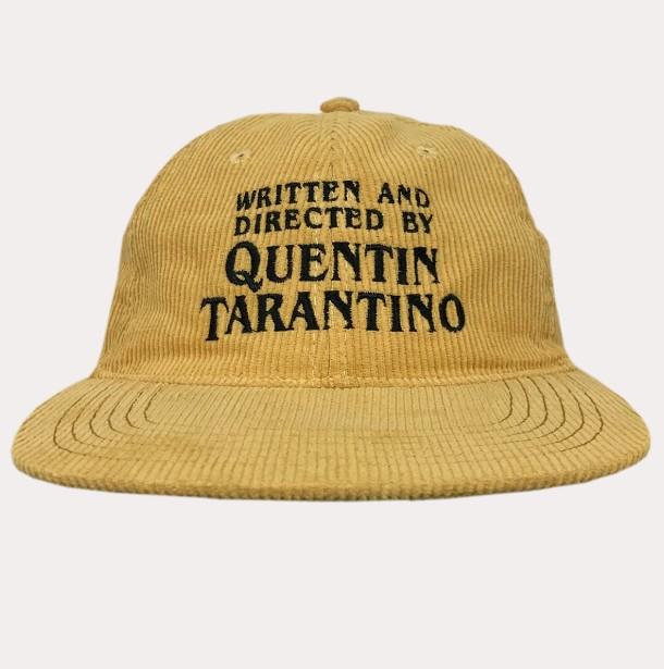TARANTINO YELLOW CORD HAT
