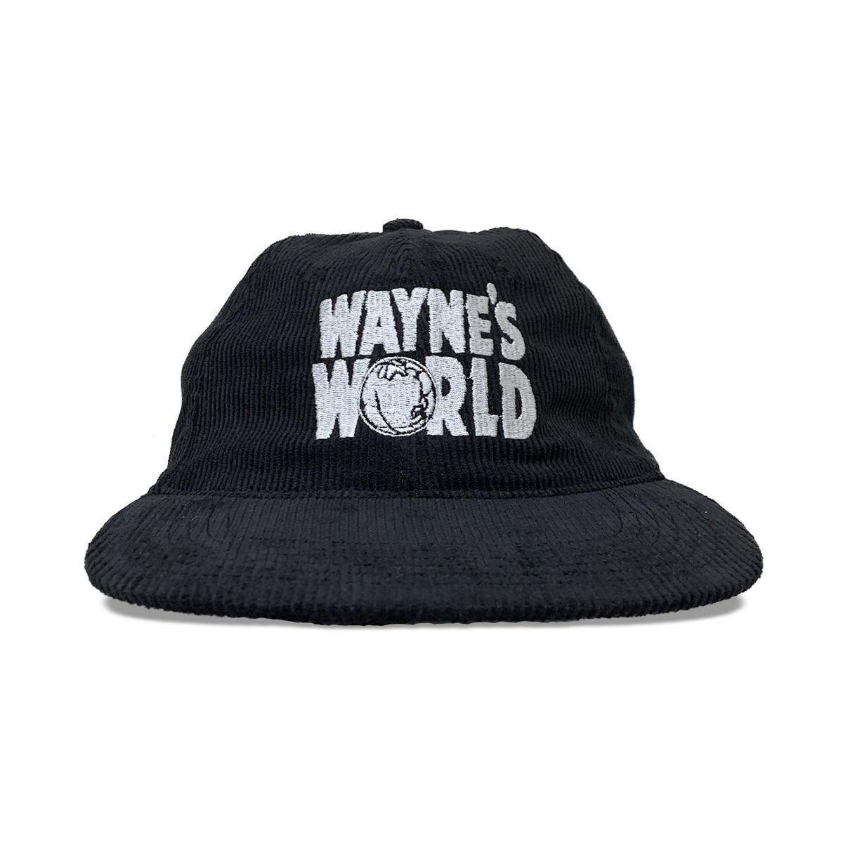 WAYNES WORLD CORD HAT BLACK