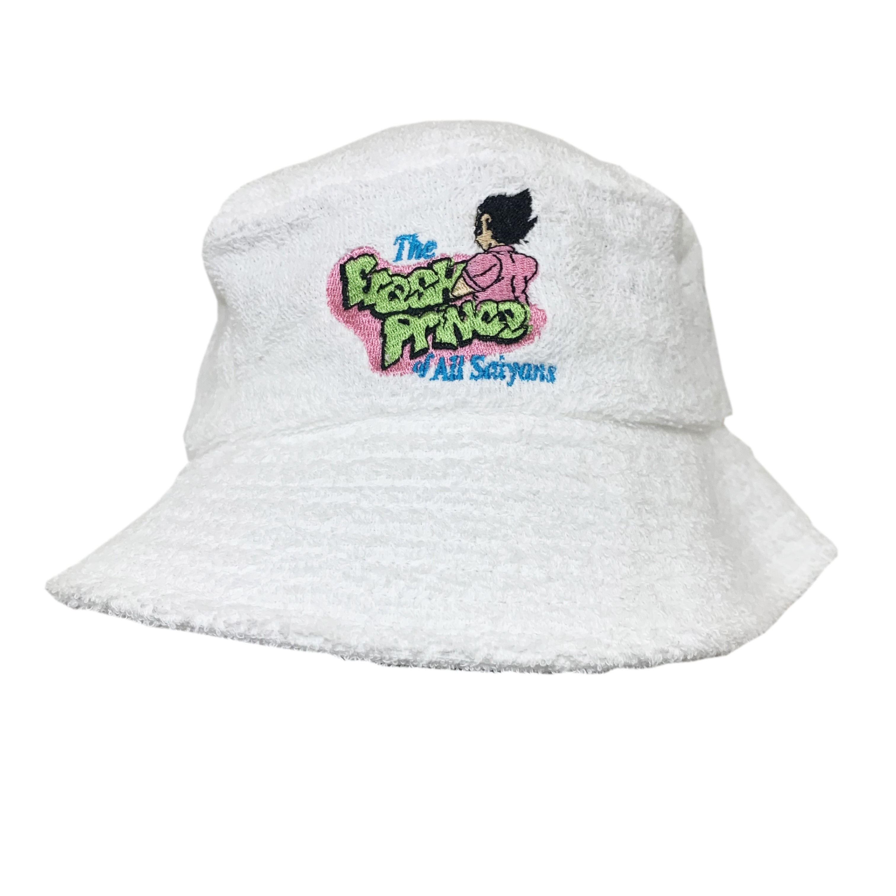 FRESH PRINCE OF SAIYANS TERRY TOWELLING BUCKET HAT