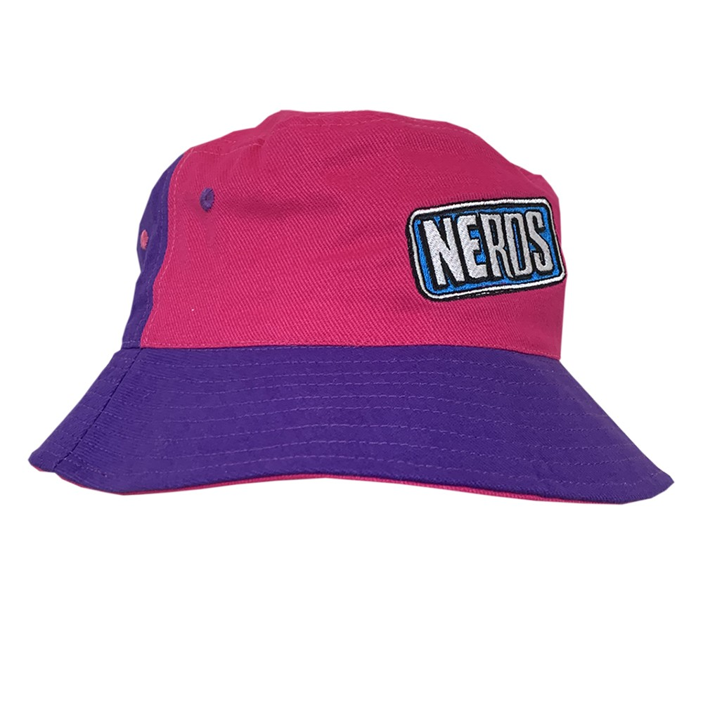 VINTAGE NERDS TWO TONE BUCKET HAT