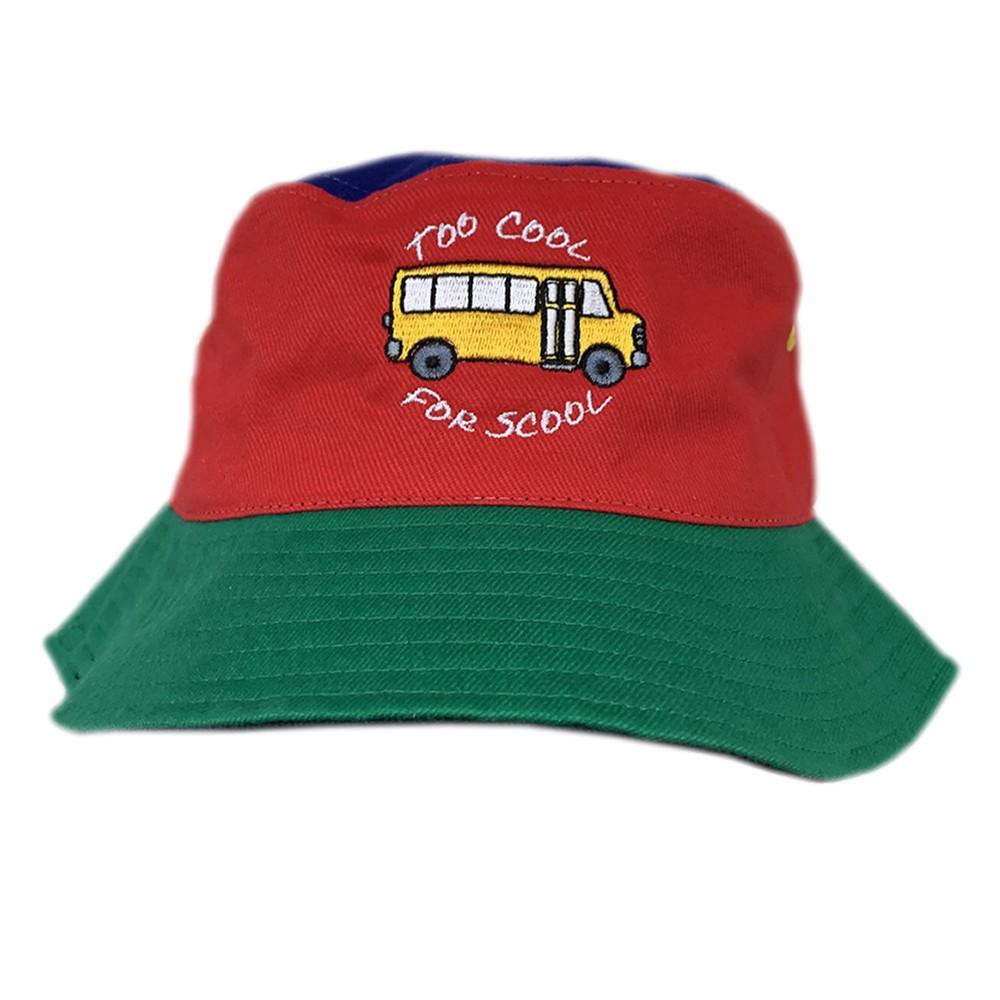 SHORT BUS MULTI COLOUR BUCKET HAT