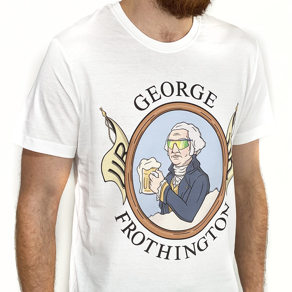 GEORGE FROTHINGTON WHITE TEE