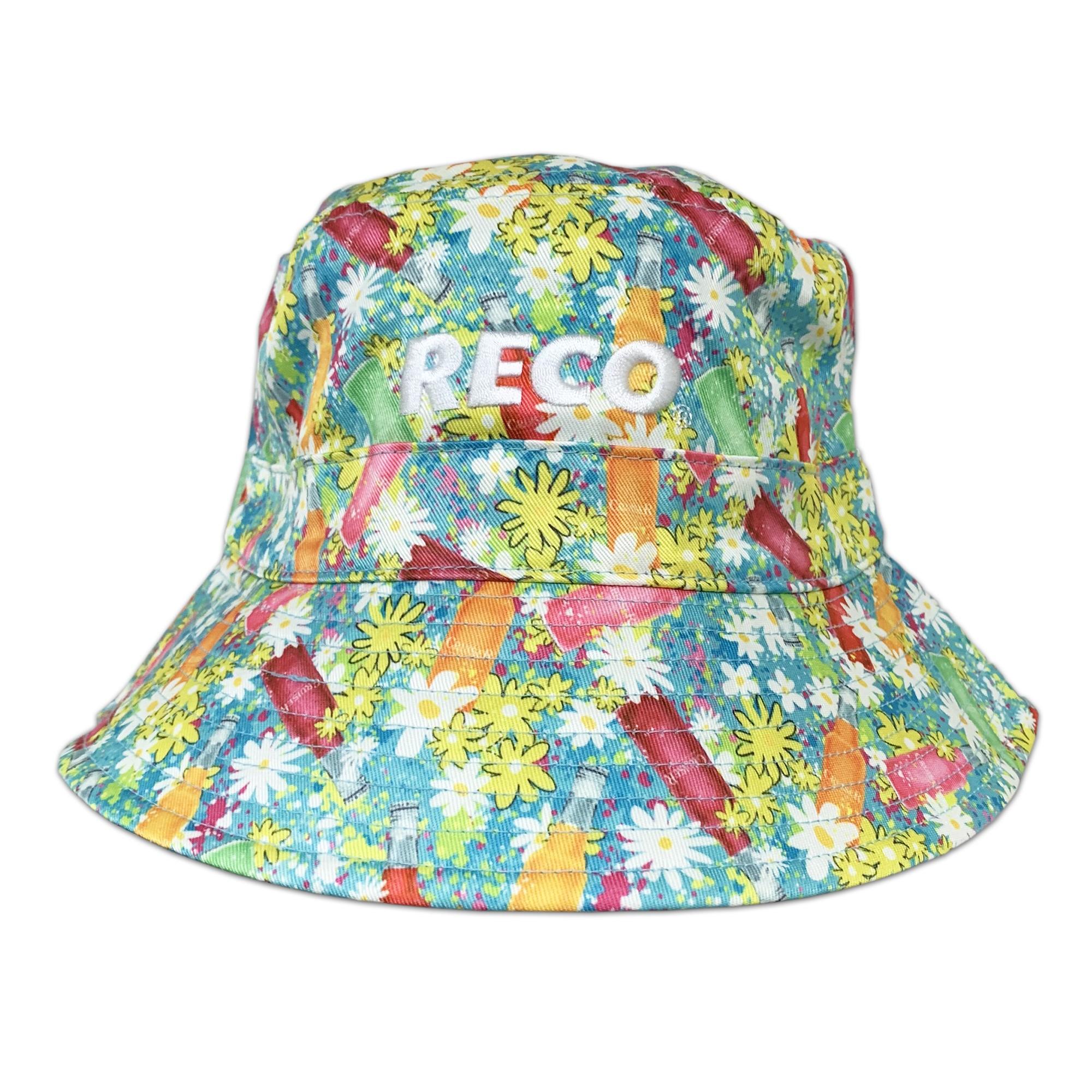 BOOZE CRUISE REVERSIBLE BUCKET HAT