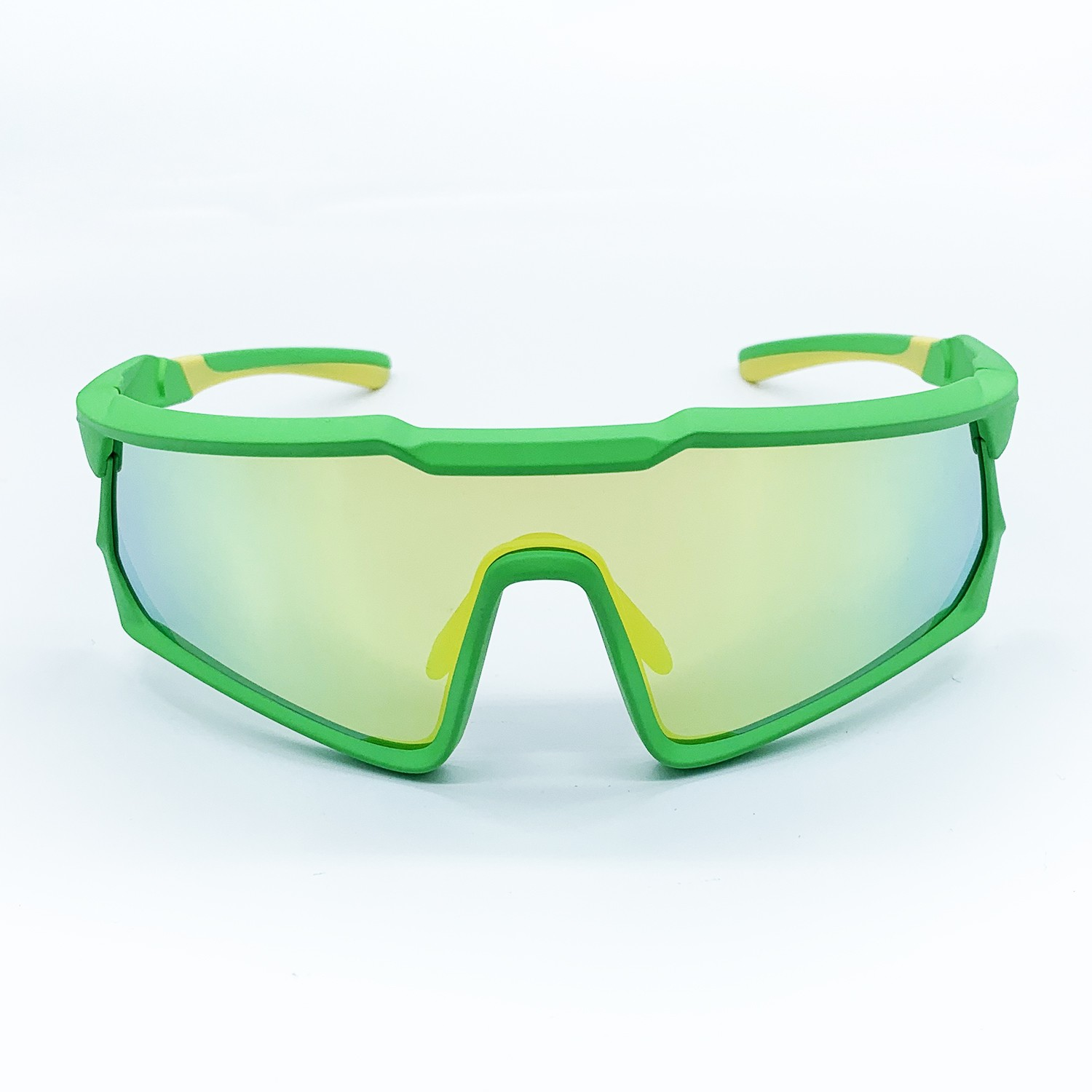 GREEN/GOLD DUNGEON MASTER SUNGLASSES