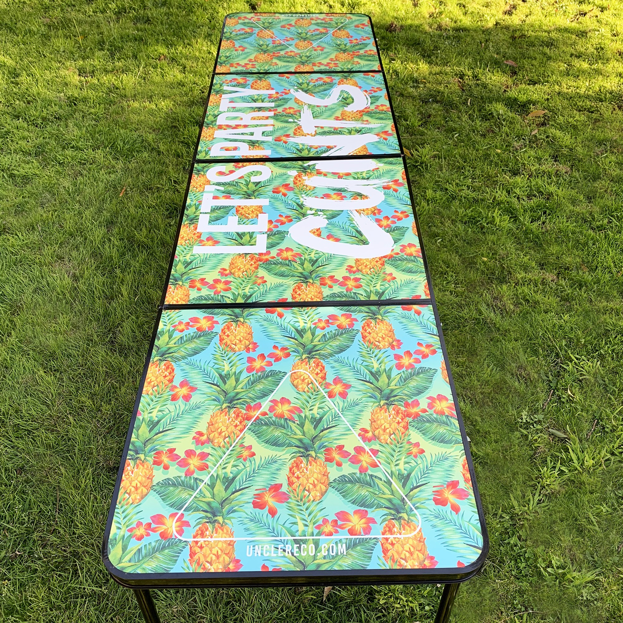 LETS PARTY BEER PONG TABLE
