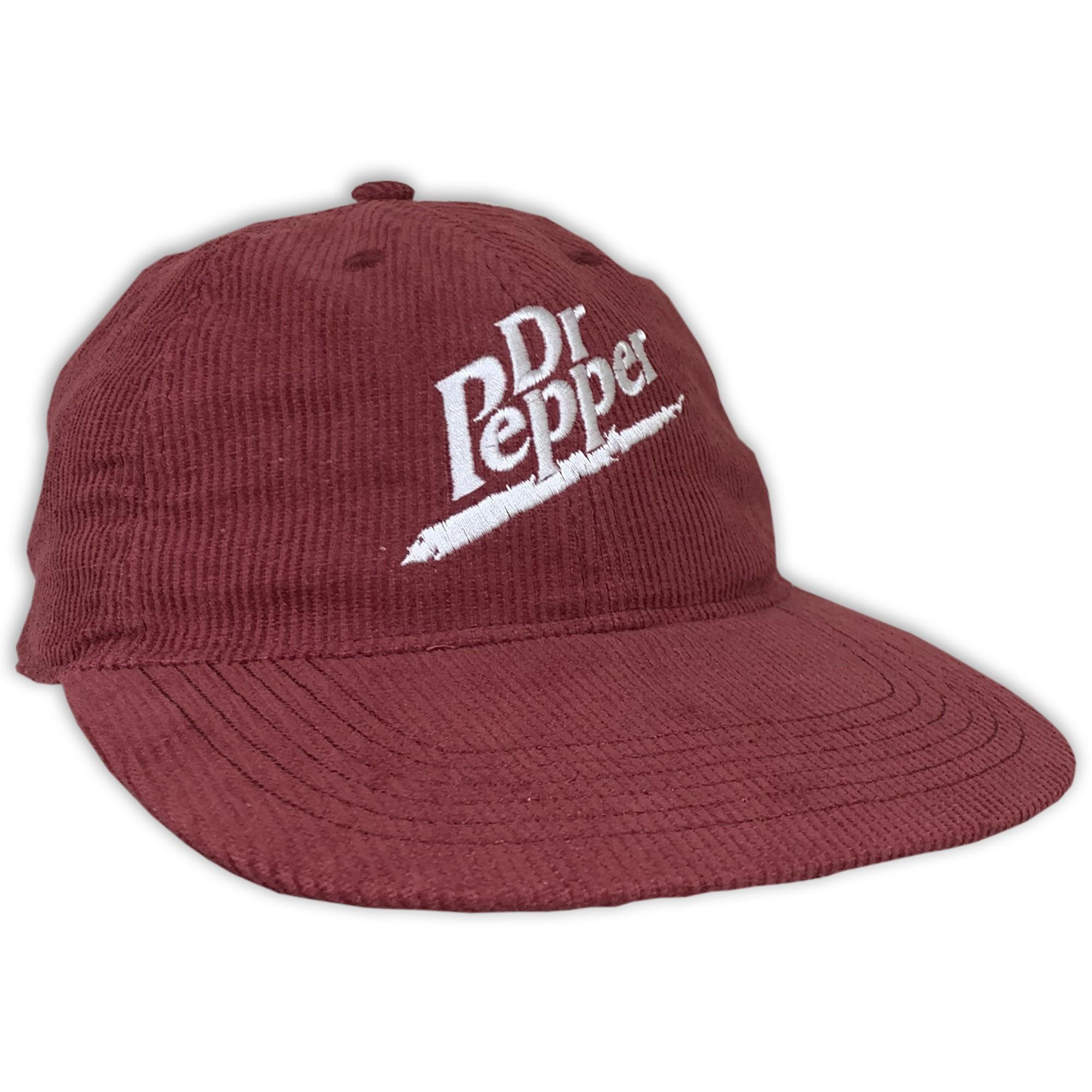 VINTAGE PEPPER MAROON CORD HAT
