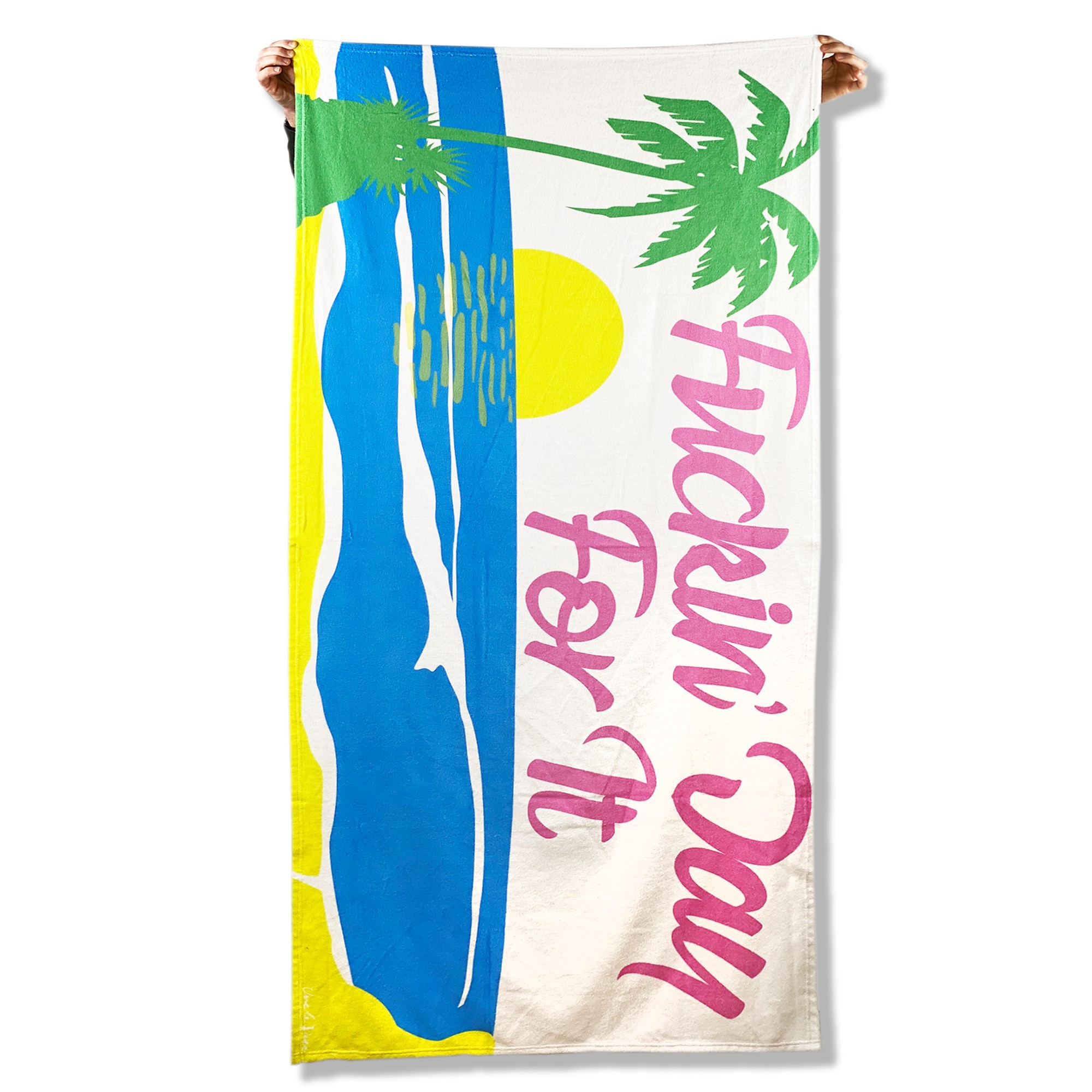 DAY FOR IT BEACH TOWEL