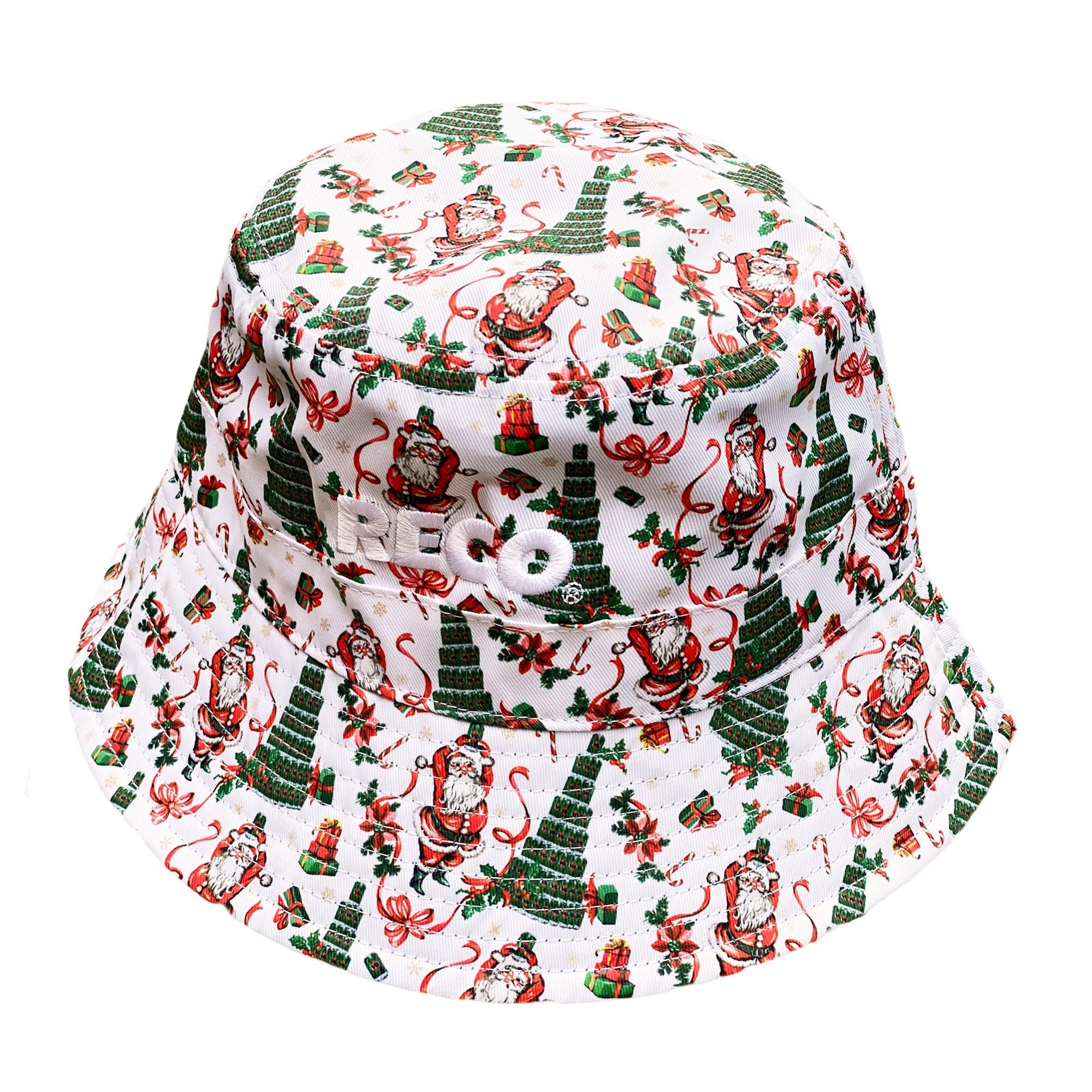 TINNIES XMAS TREE BUCKET HAT