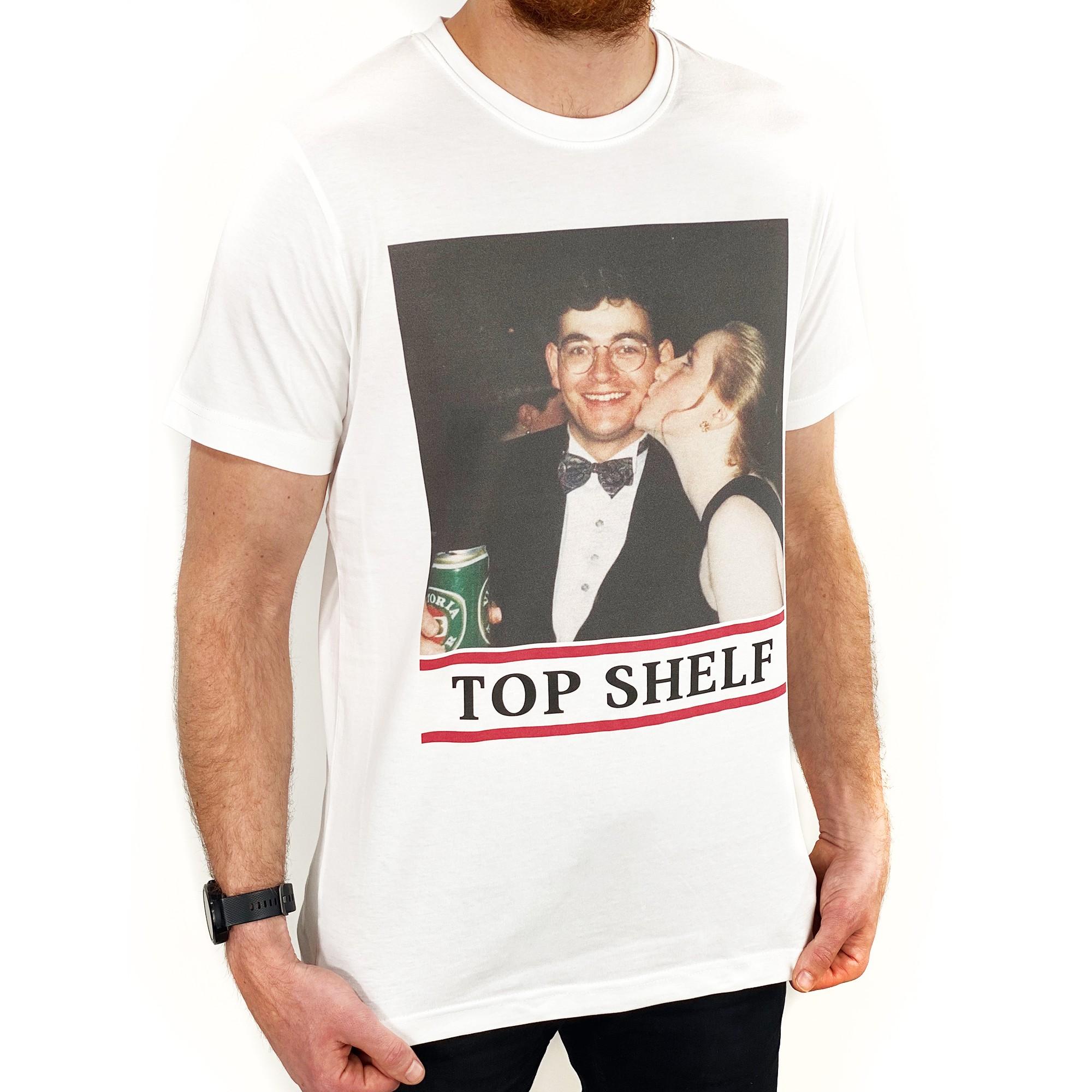 TOP SHELF WHITE TEE