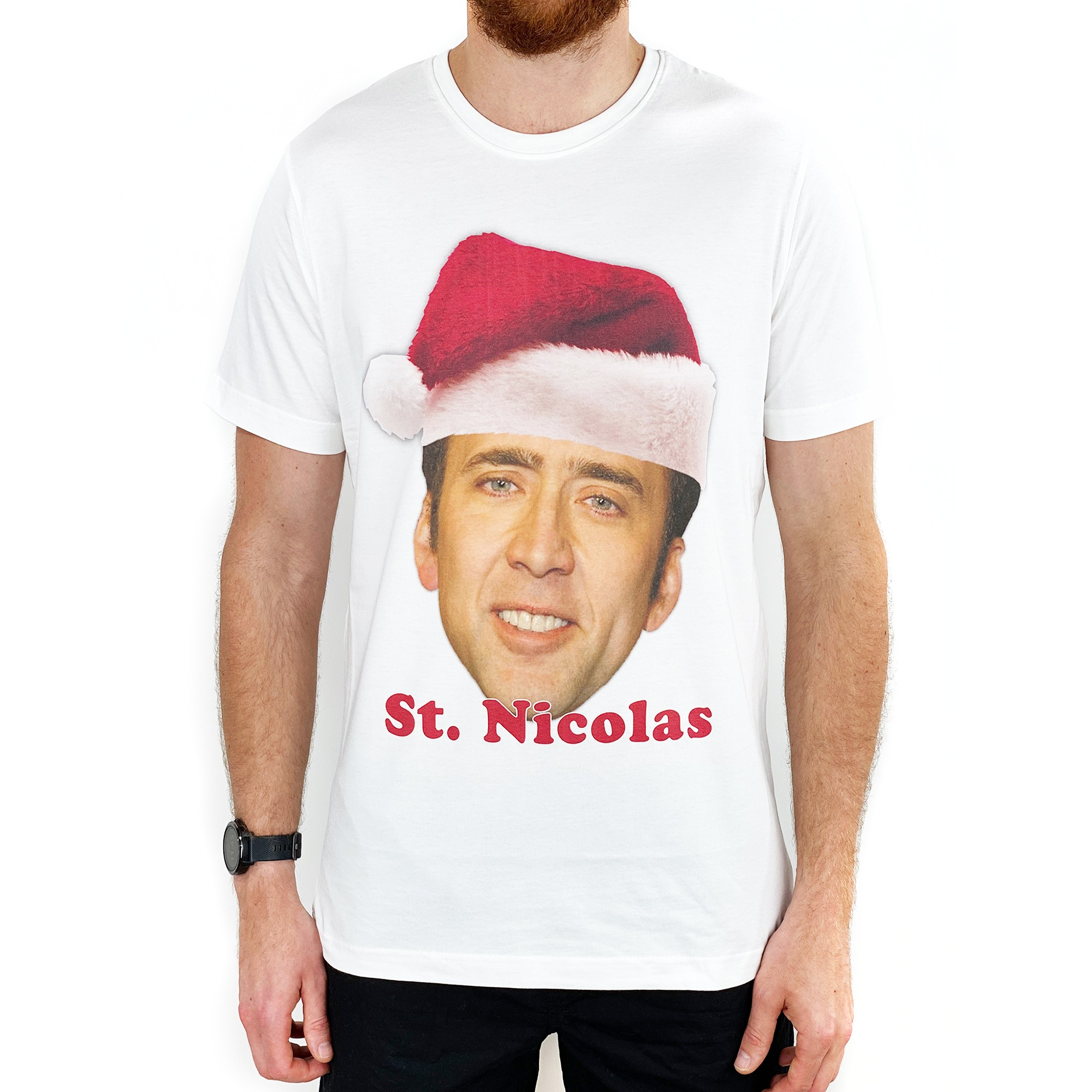 SAINT NICOLAS WHITE TEE