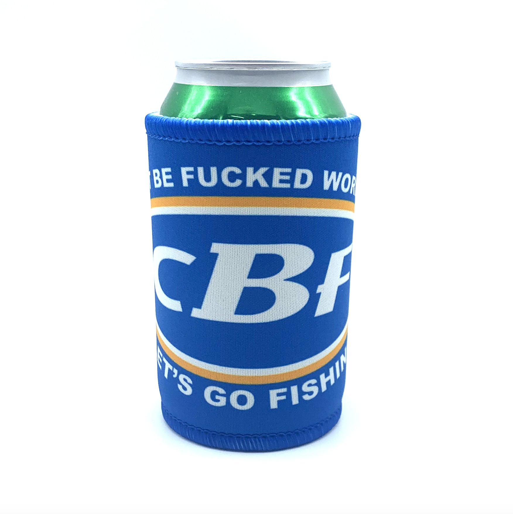 CAN'T BE F'D PARODY STUBBY HOLDER