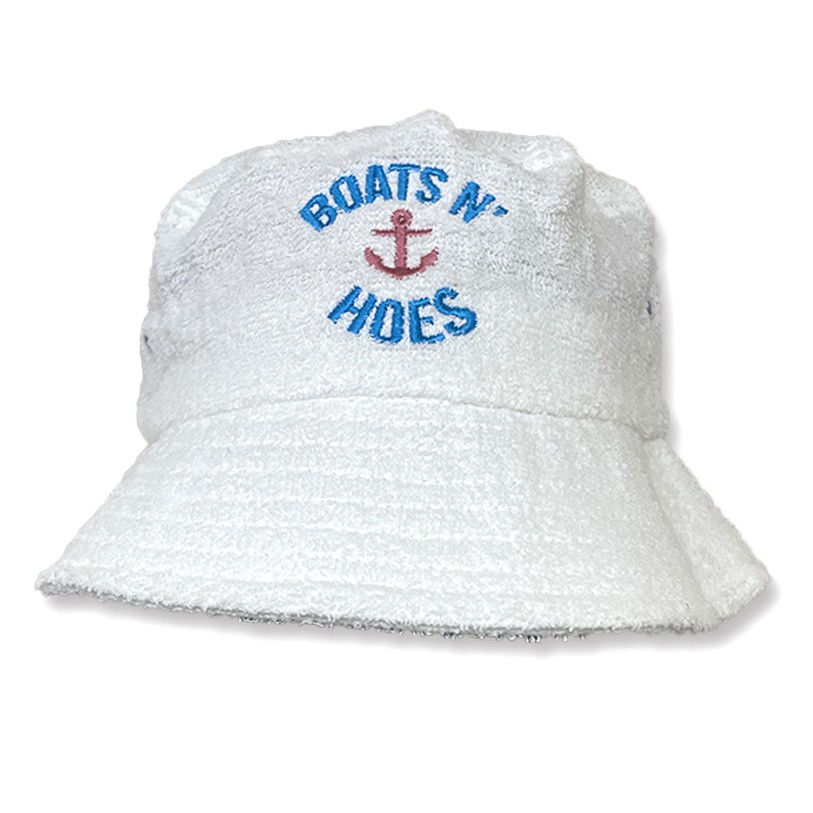 BOATS N HOES TERRY TOWEL BUCKET HAT