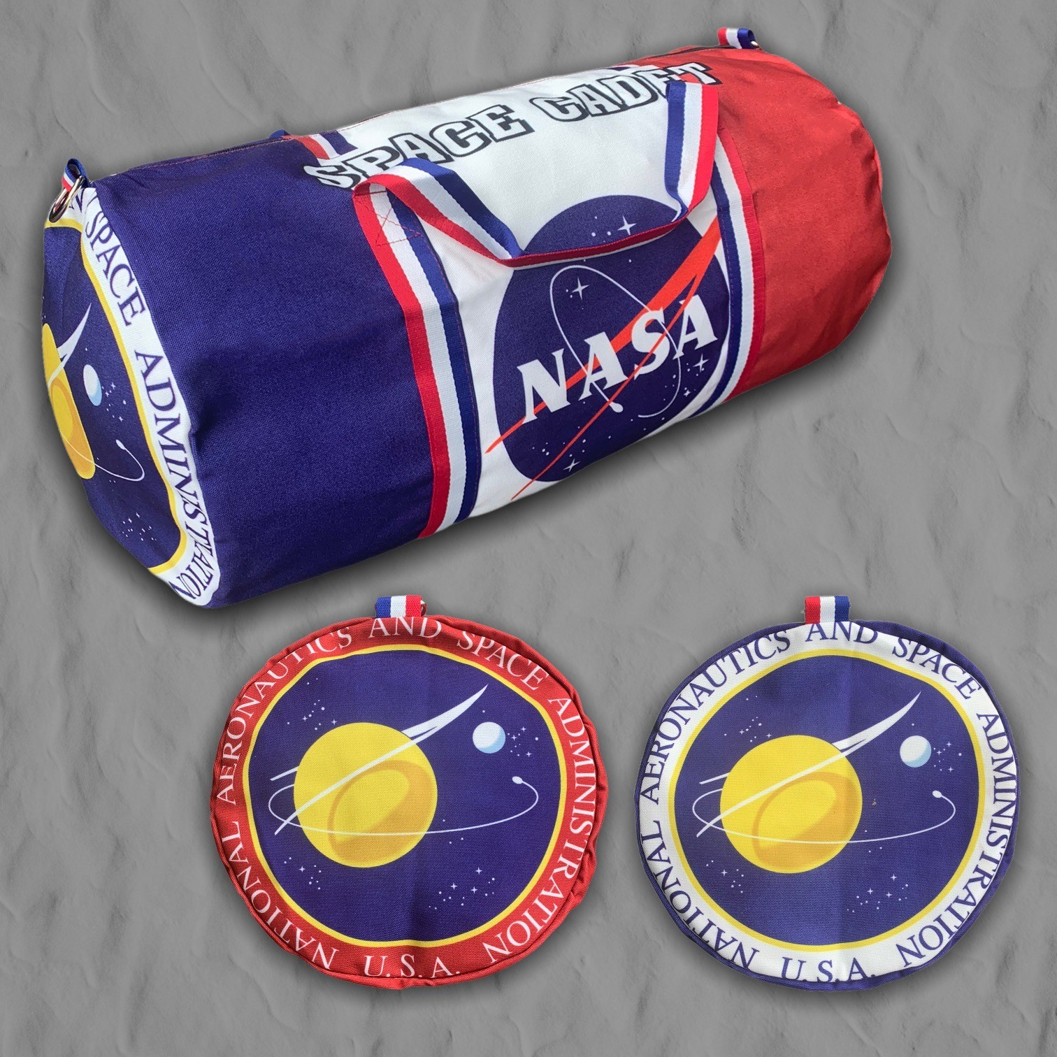 SPACE CADET DUFFLE BAG