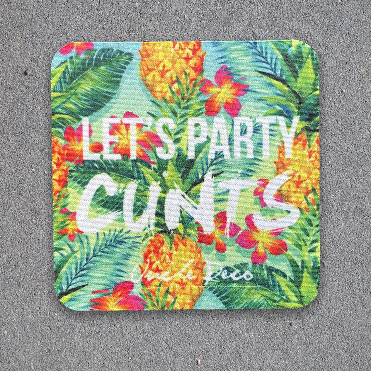 LET'S PARTY COASTER