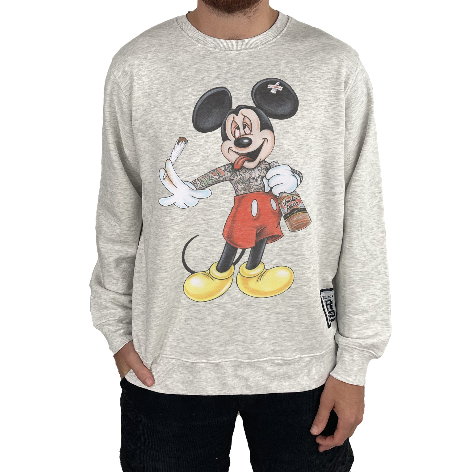 STONED MOUSE WHITE MARLE CREW
