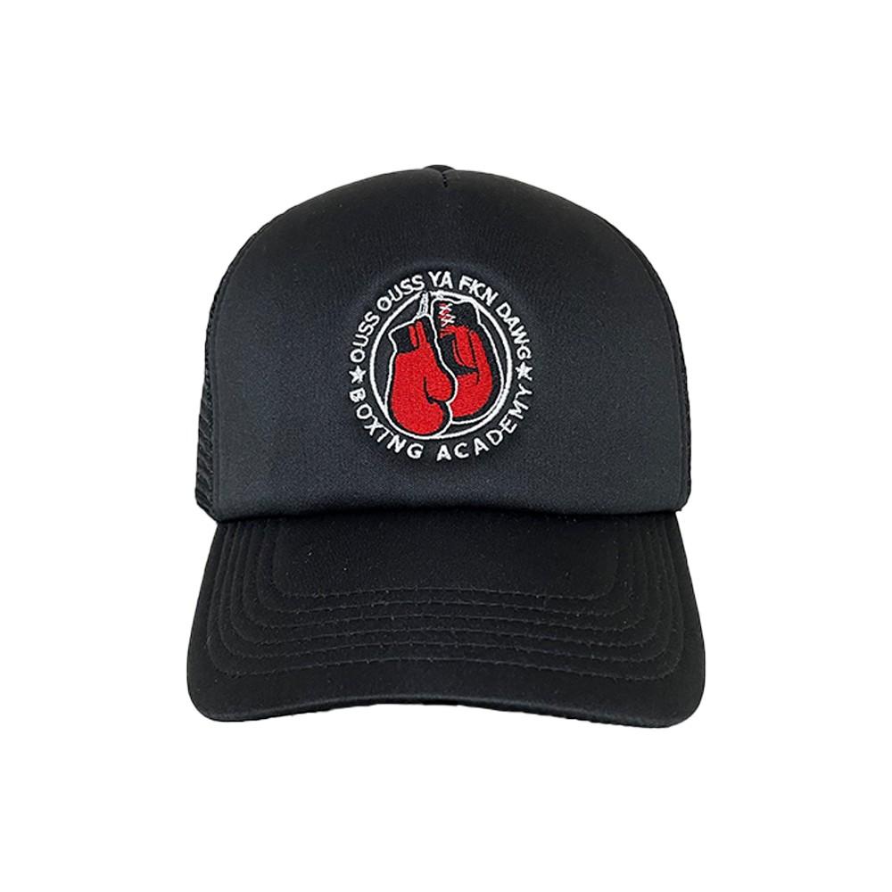 OUSS OUSS BLACK TRUCKER HAT