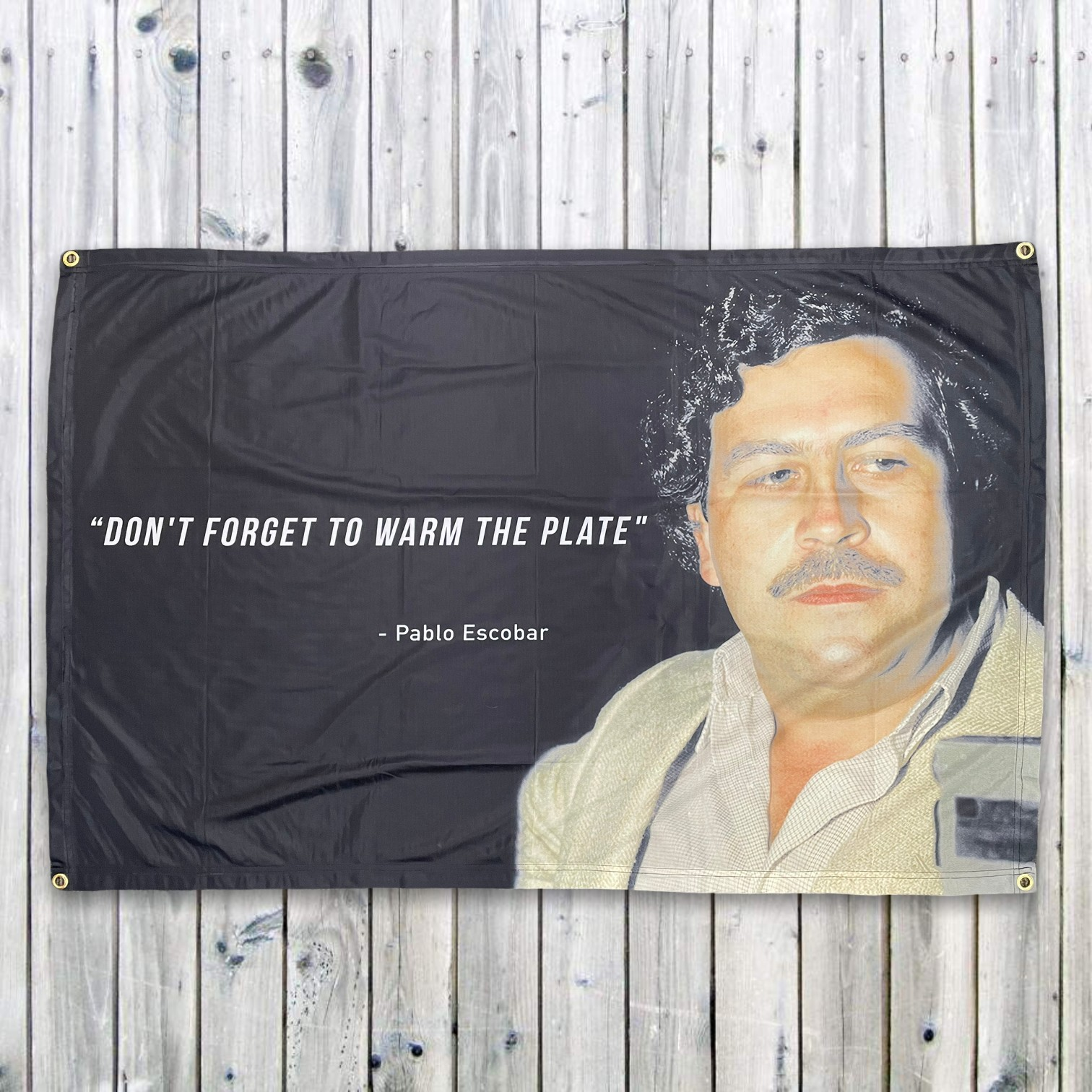 WARM THE PLATE WALL HANGING