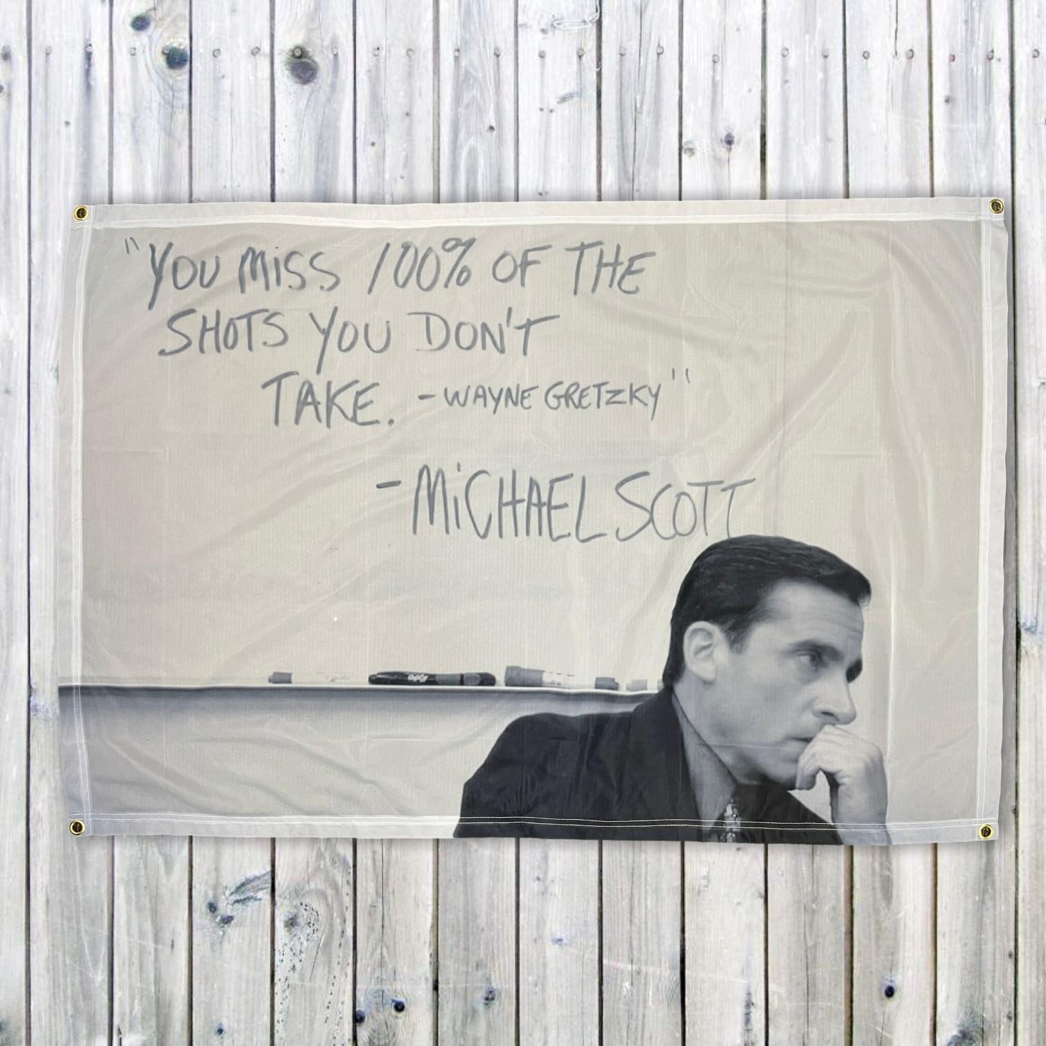 MICHAEL SCOTT WALL HANGING