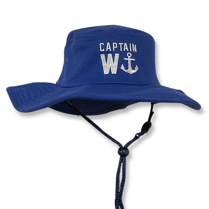 CAPTAIN W WIDE BRIM HAT