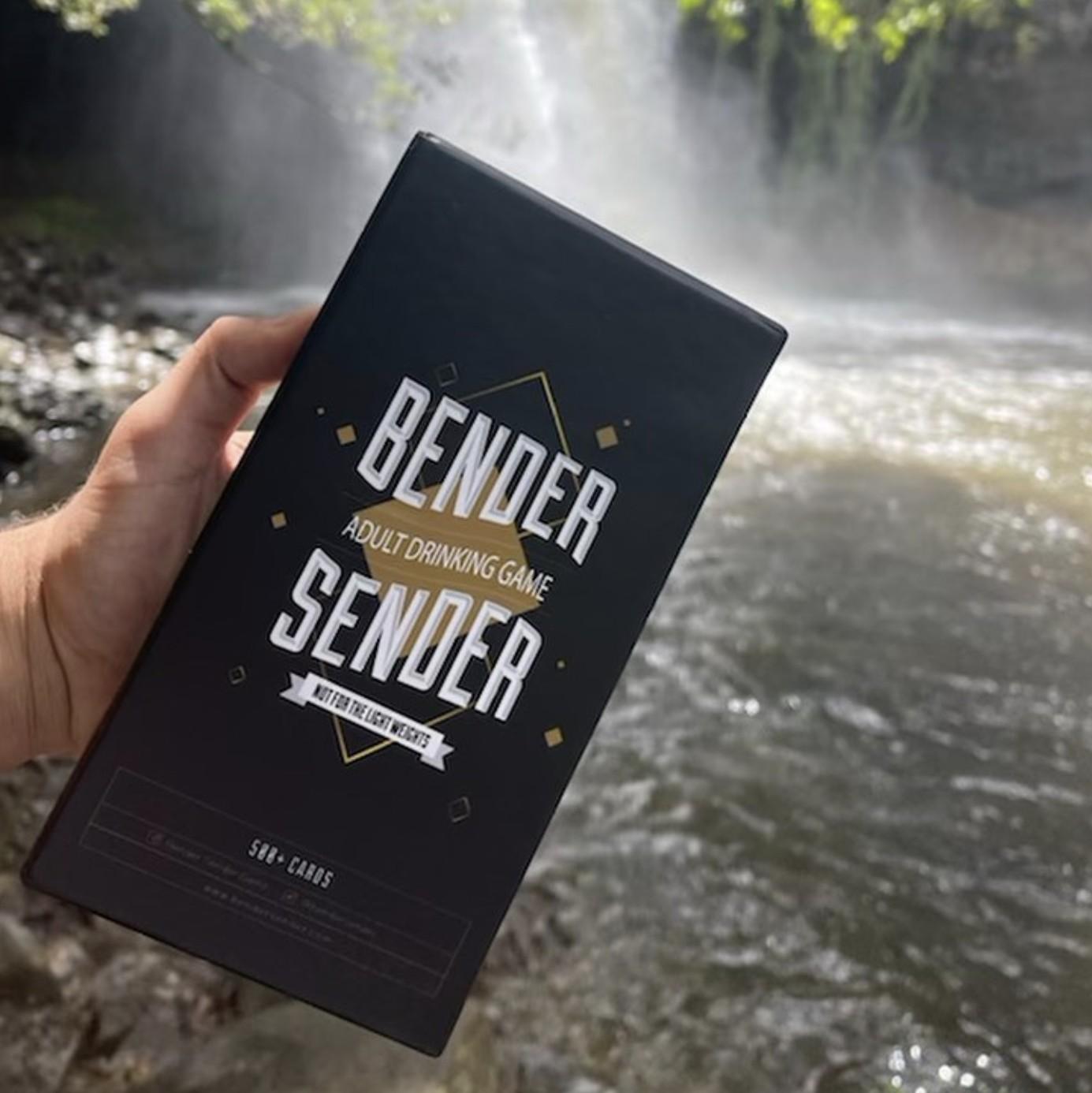 BENDER SENDER DRINKING GAME