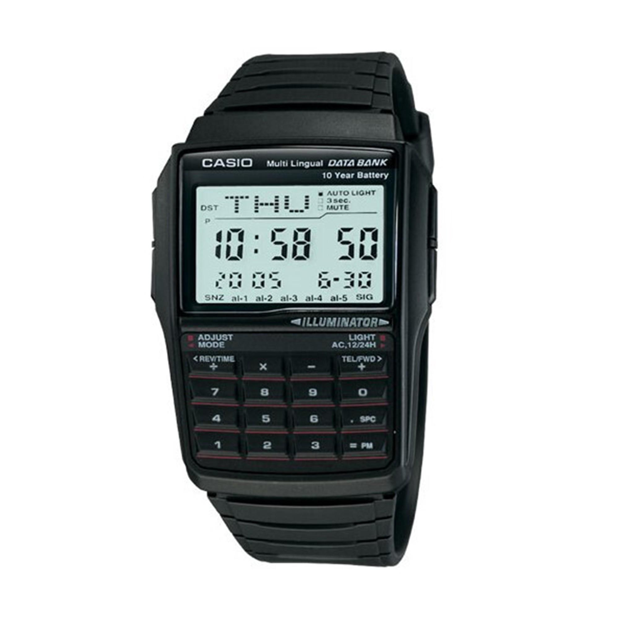 Casio Data Bank Calculator