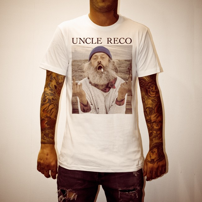 UNCLE FUCKER WHITE TEE