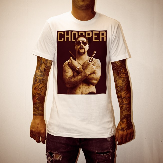 CHOPPER WHITE TEE