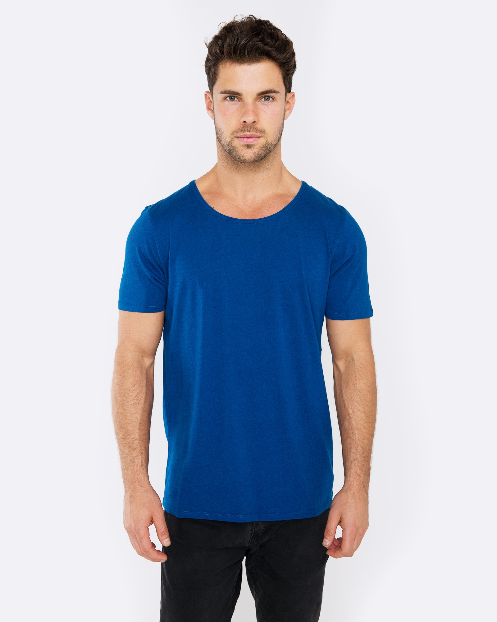 BLANK MIDNIGHT BLUE TEE