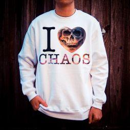 I LOVE CHAOS WHITE CREW
