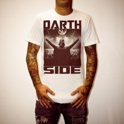 DARTH SIDE WHITE TEE