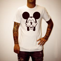 MICKEY FINGERS WHITE TEE